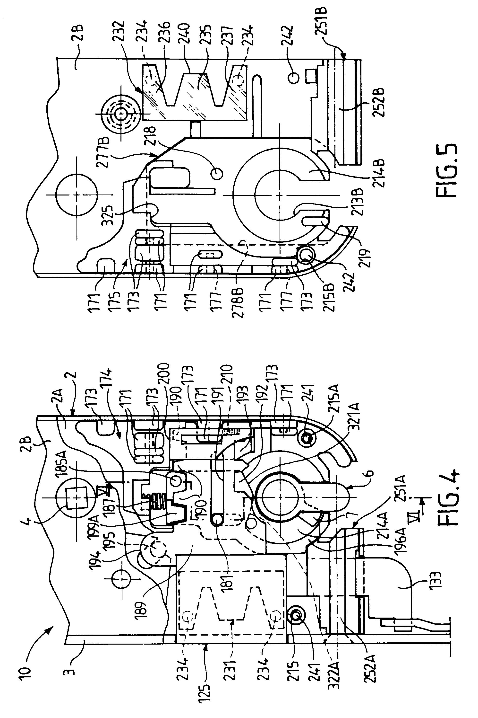 patente ep0651116a1 serrure de porte quip e d 39 un dispositif de protection google patentes. Black Bedroom Furniture Sets. Home Design Ideas