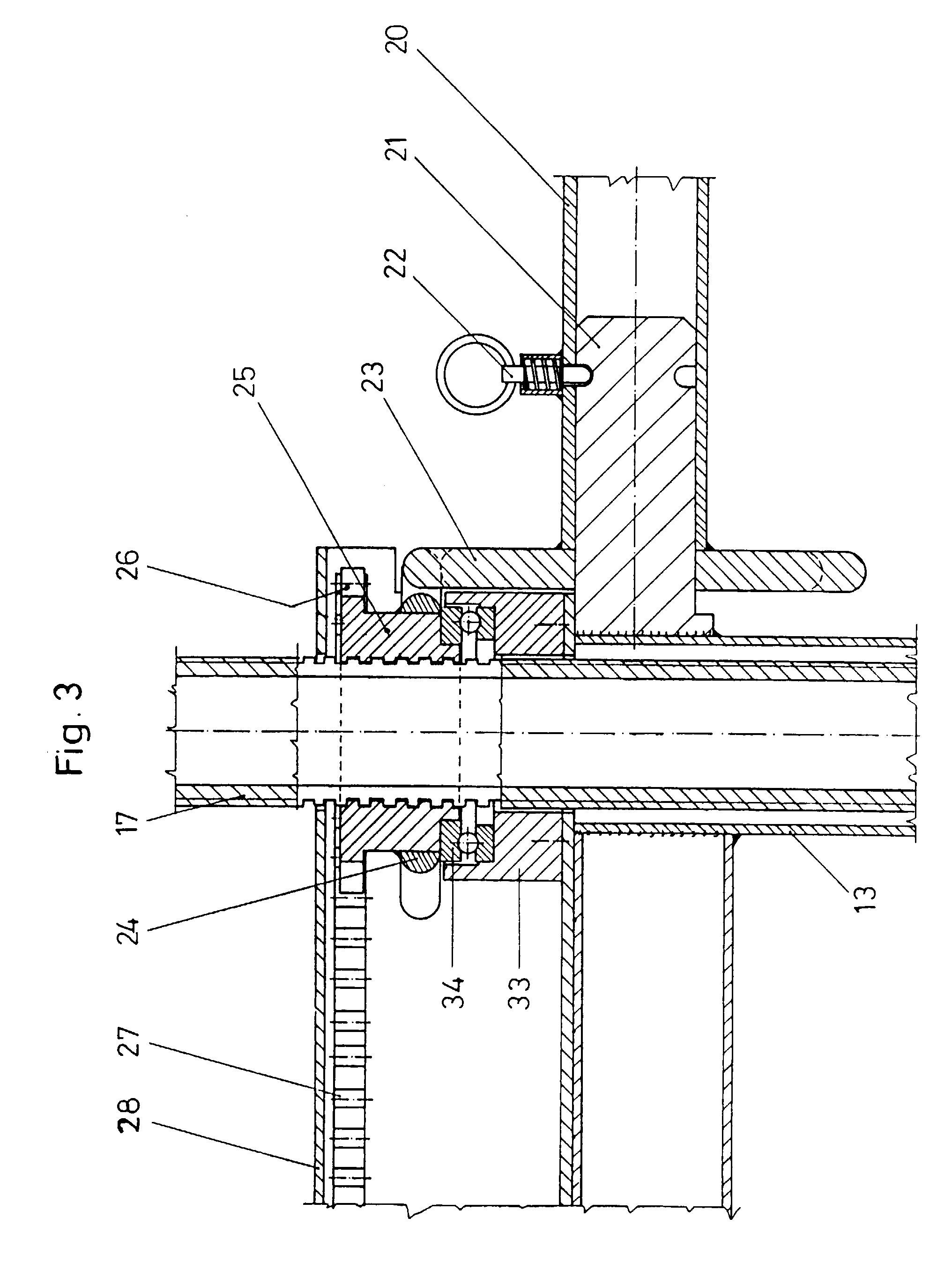 patent ep0666387b1 tr teau r glable en hauteur google patents. Black Bedroom Furniture Sets. Home Design Ideas