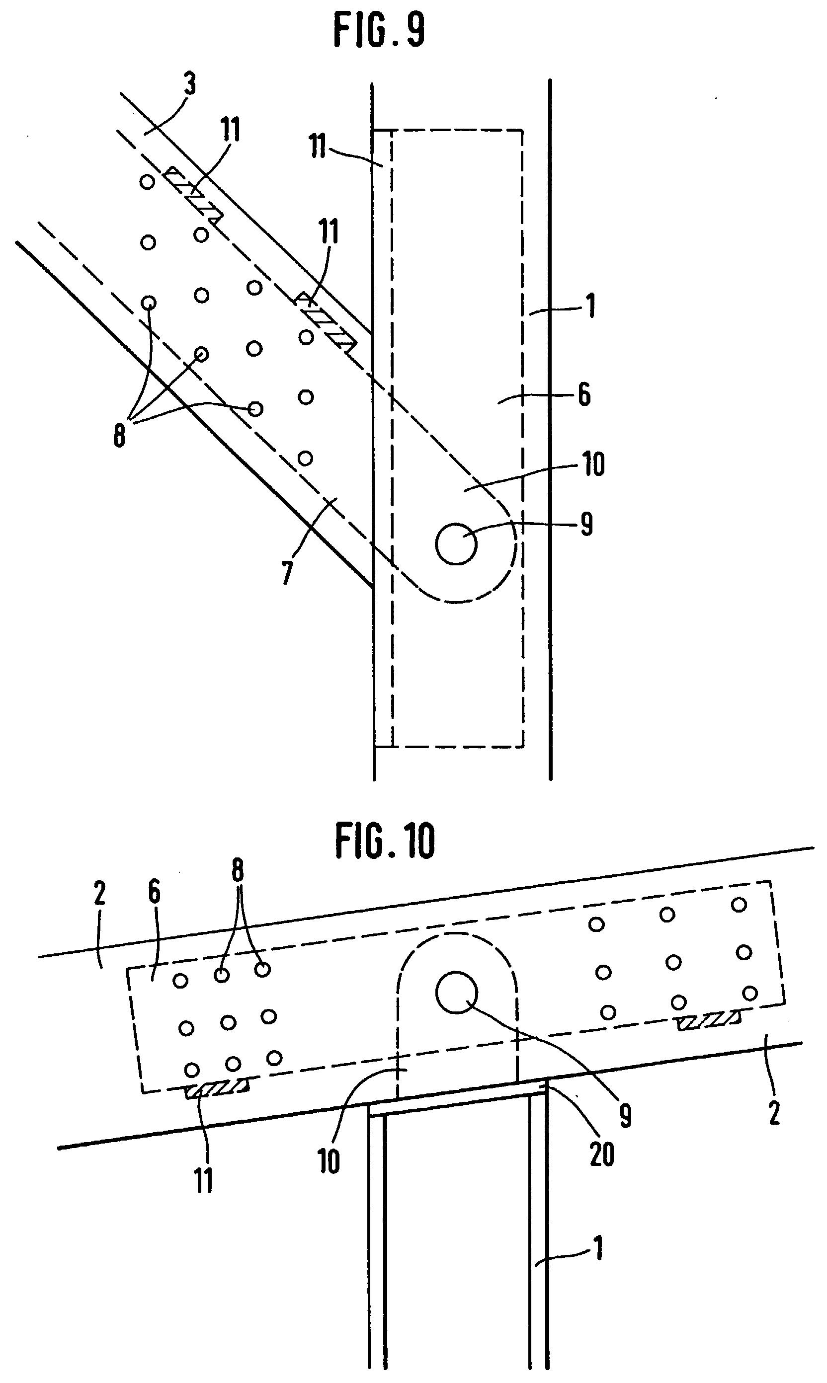 Patent ep0667426b1 fachwerkkonstruktion insbesondere for Fachwerkkonstruktion stahl