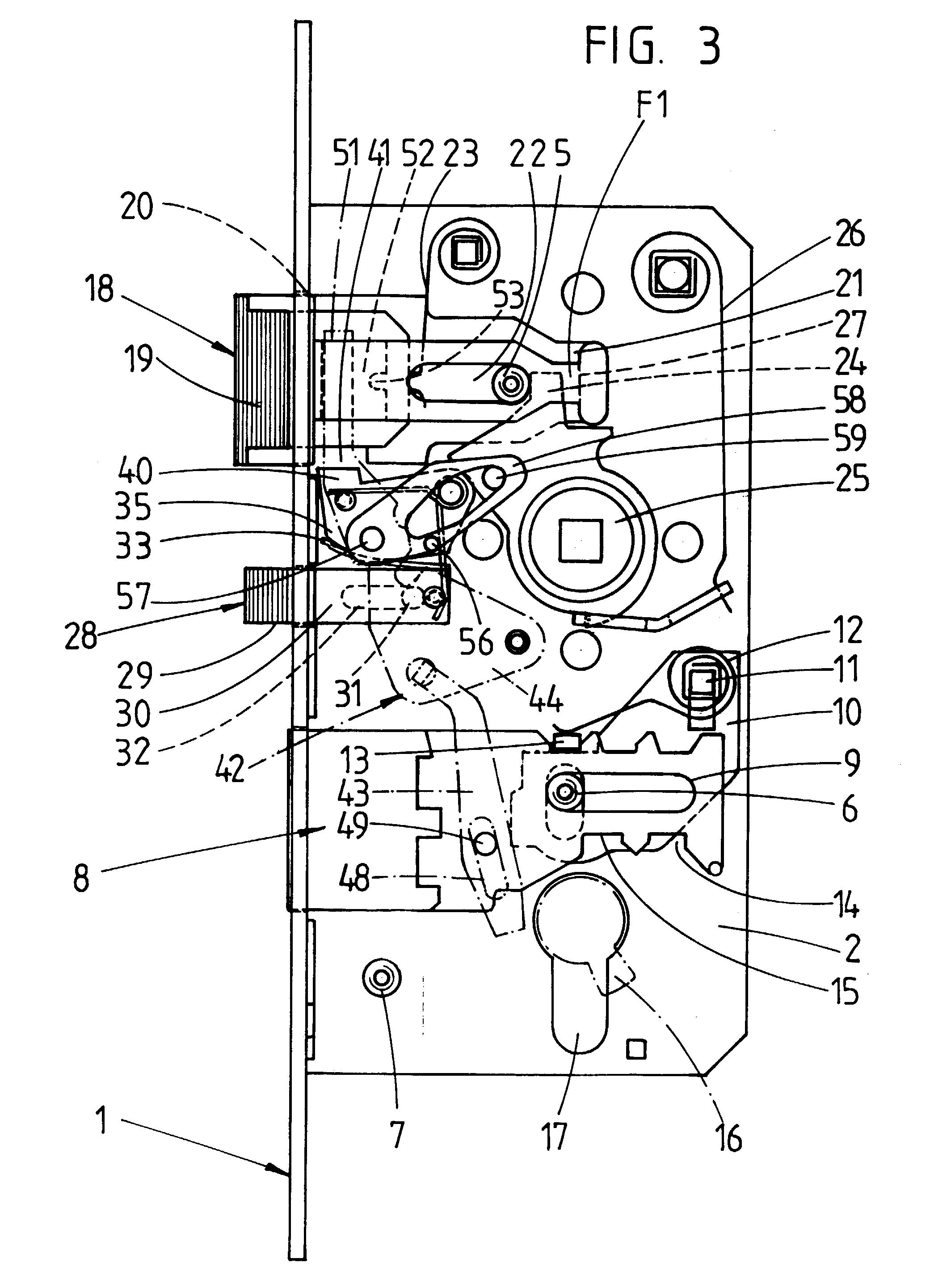 patent ep0670403b1 t rschloss insbesondere einsteckschloss google patents. Black Bedroom Furniture Sets. Home Design Ideas