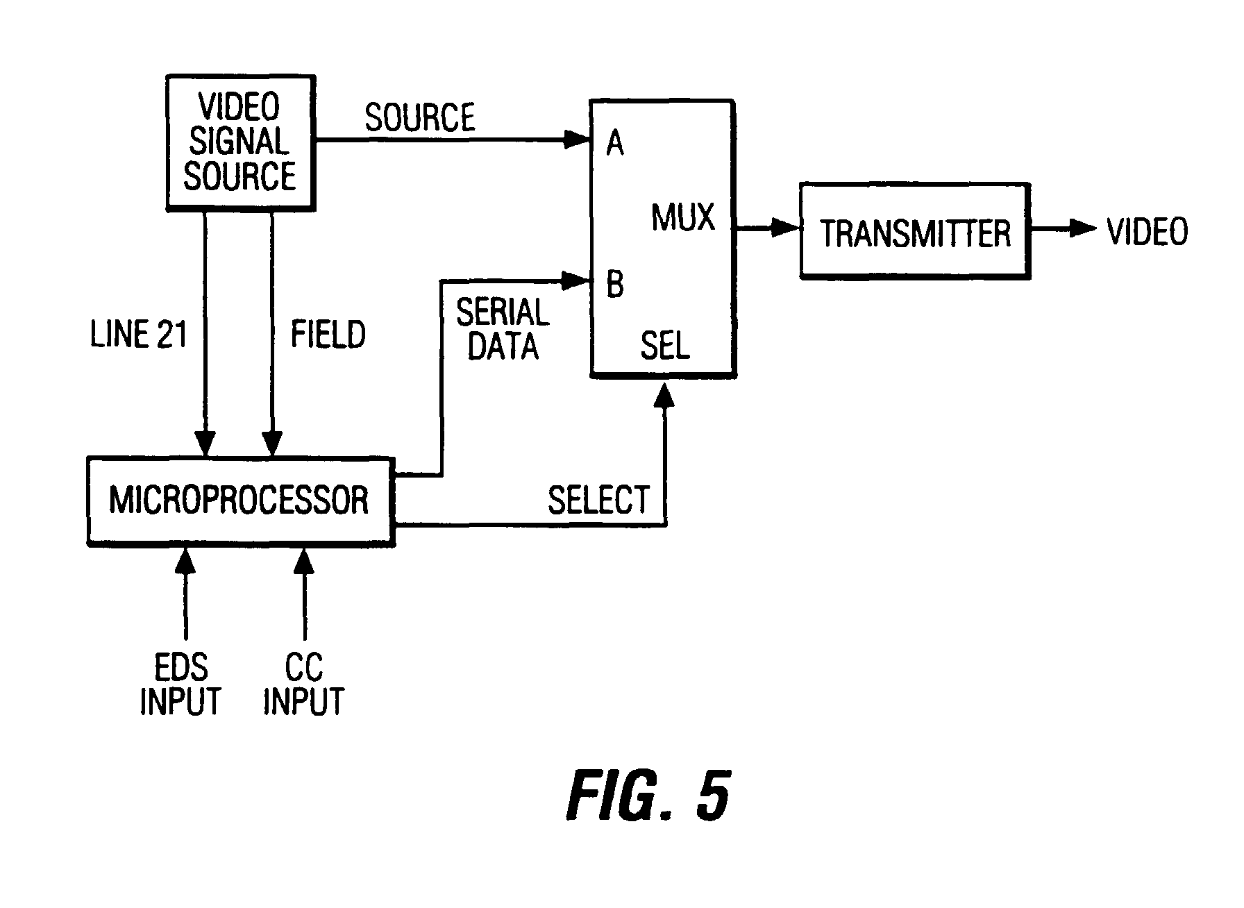 patente epb auxiliary video information system including patent drawing