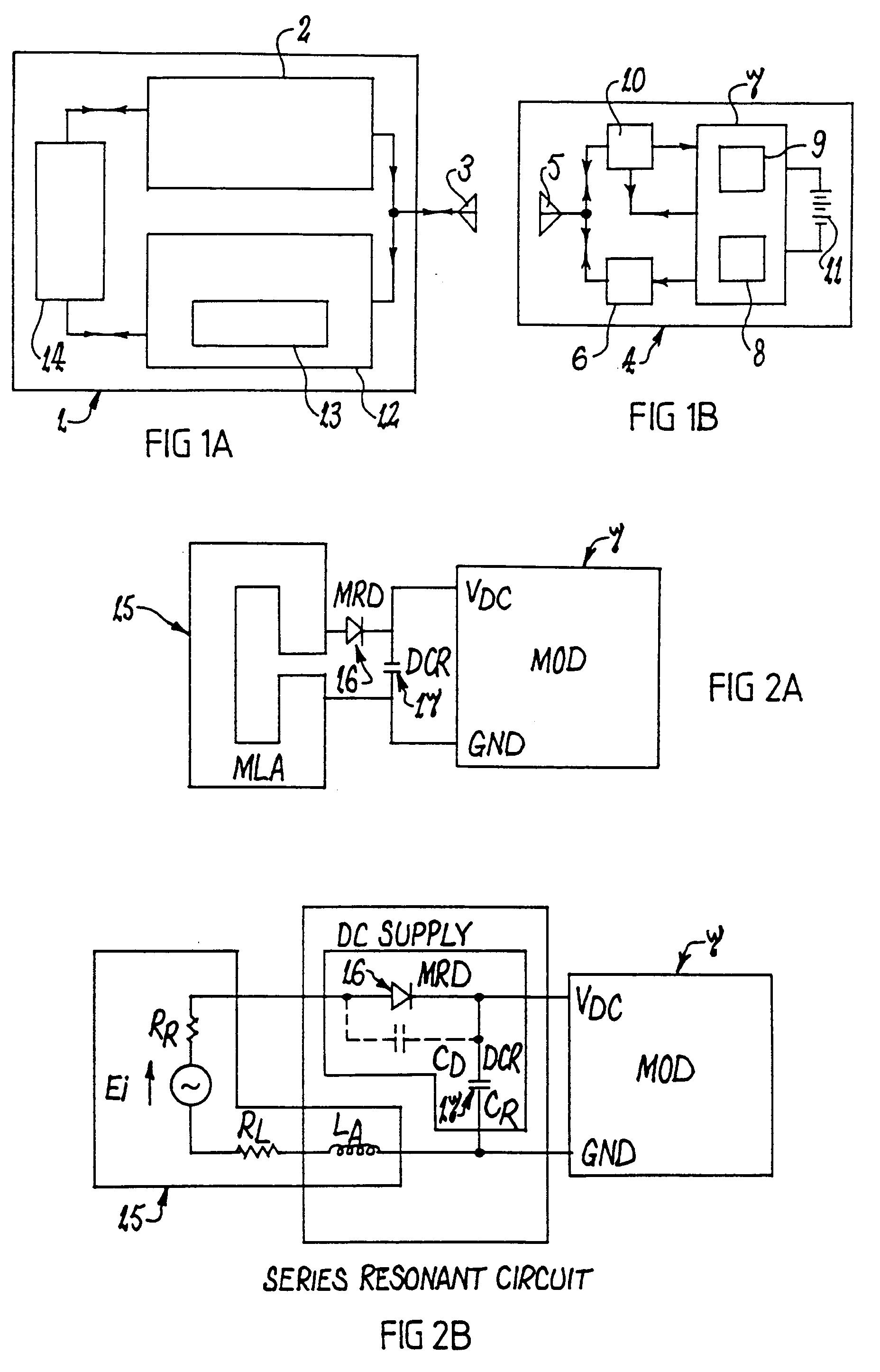 Patent EP0710853A2 - Transponder system - Google Patents