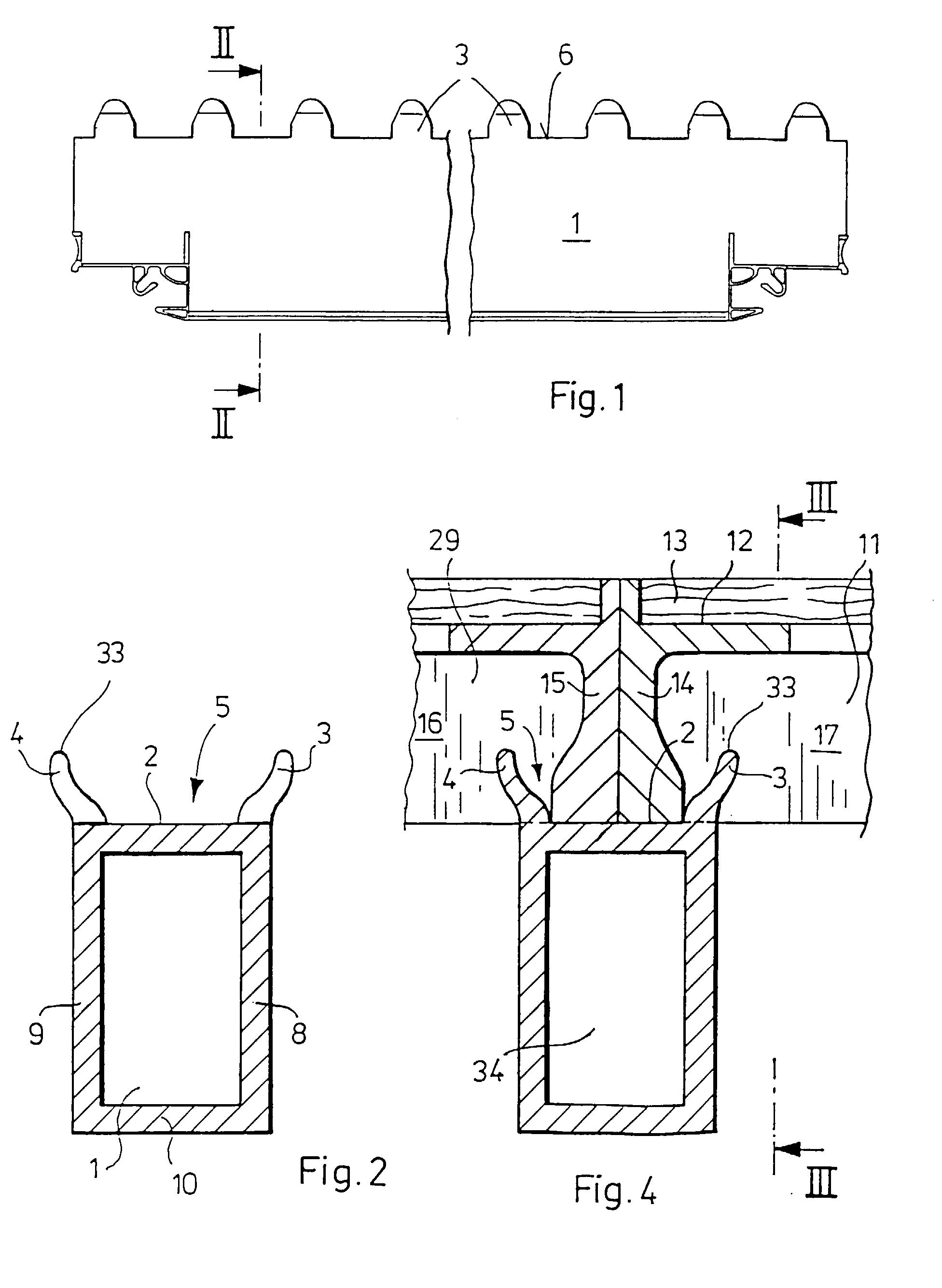 patent ep0718453b1 schalung f r eine betondecke google. Black Bedroom Furniture Sets. Home Design Ideas