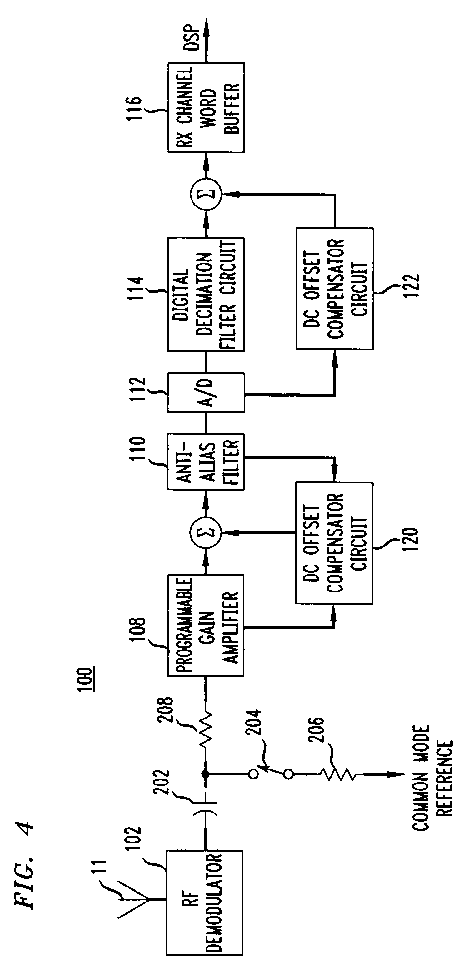patent ep0719013a2 - dc offset correction circuit