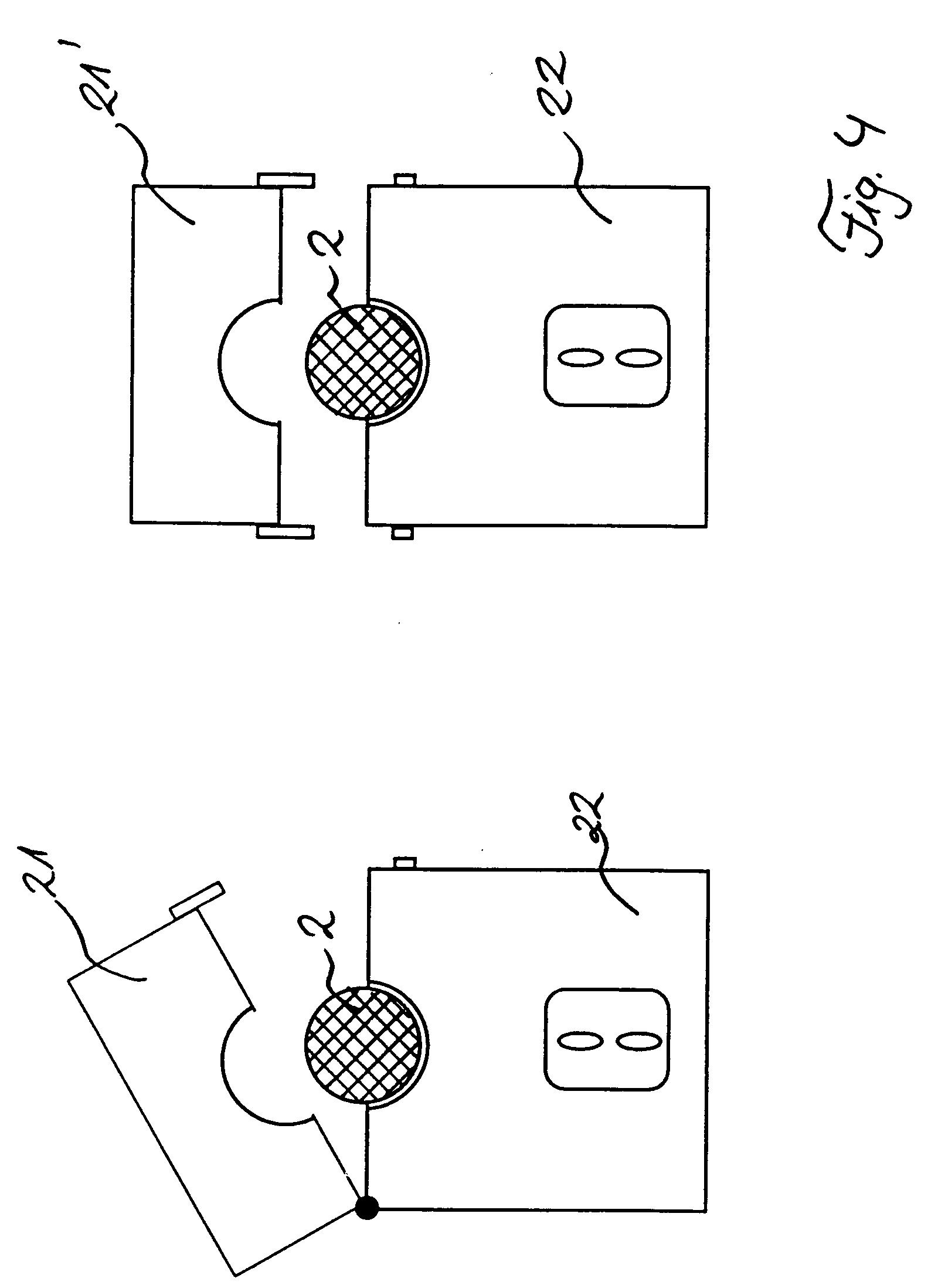 Patent EP0725412A2 - Sicherungsvorrichtung für eine Stromleitung in ...