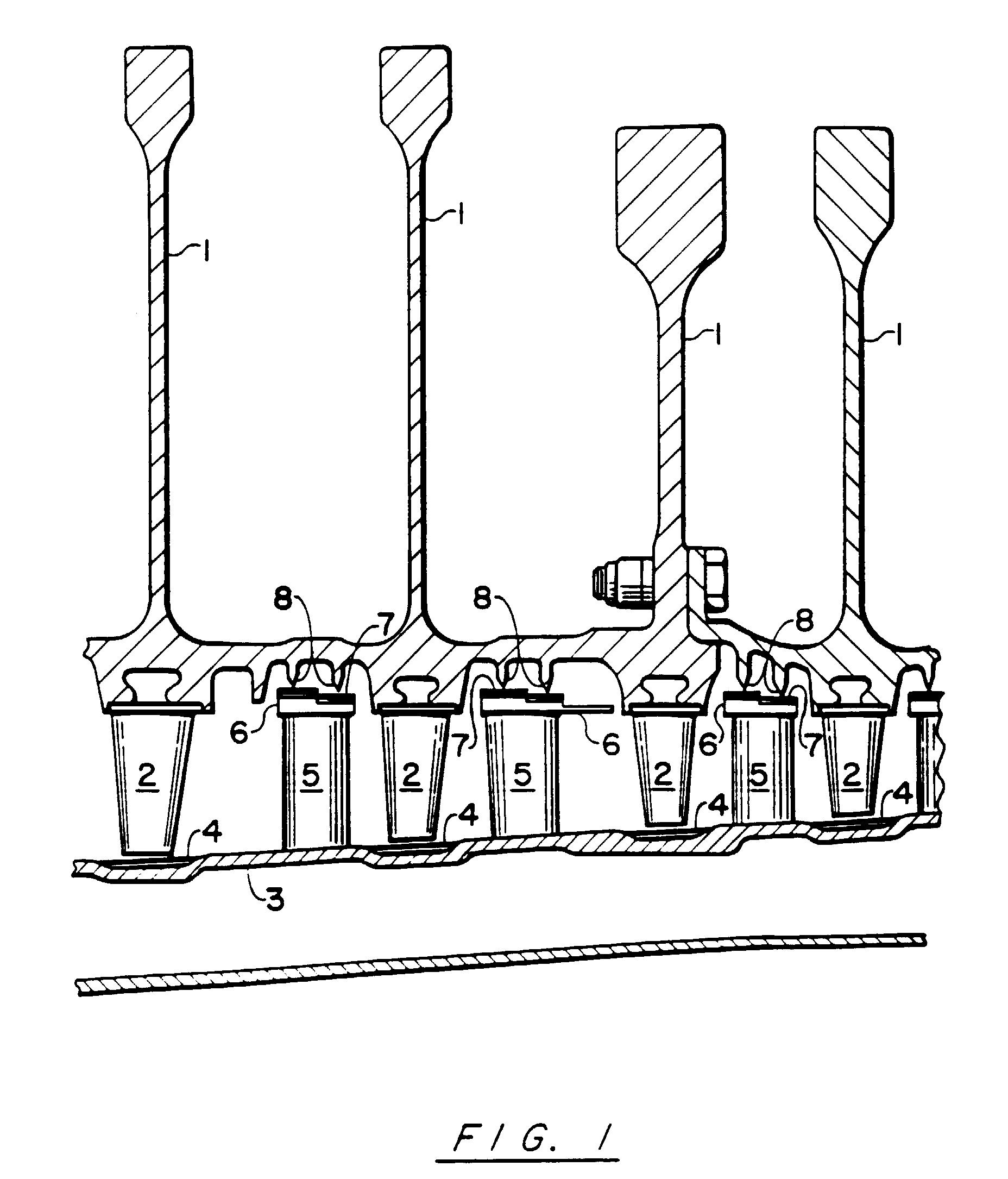 Patent EP B1 Plasma sprayed abradable seals for gas