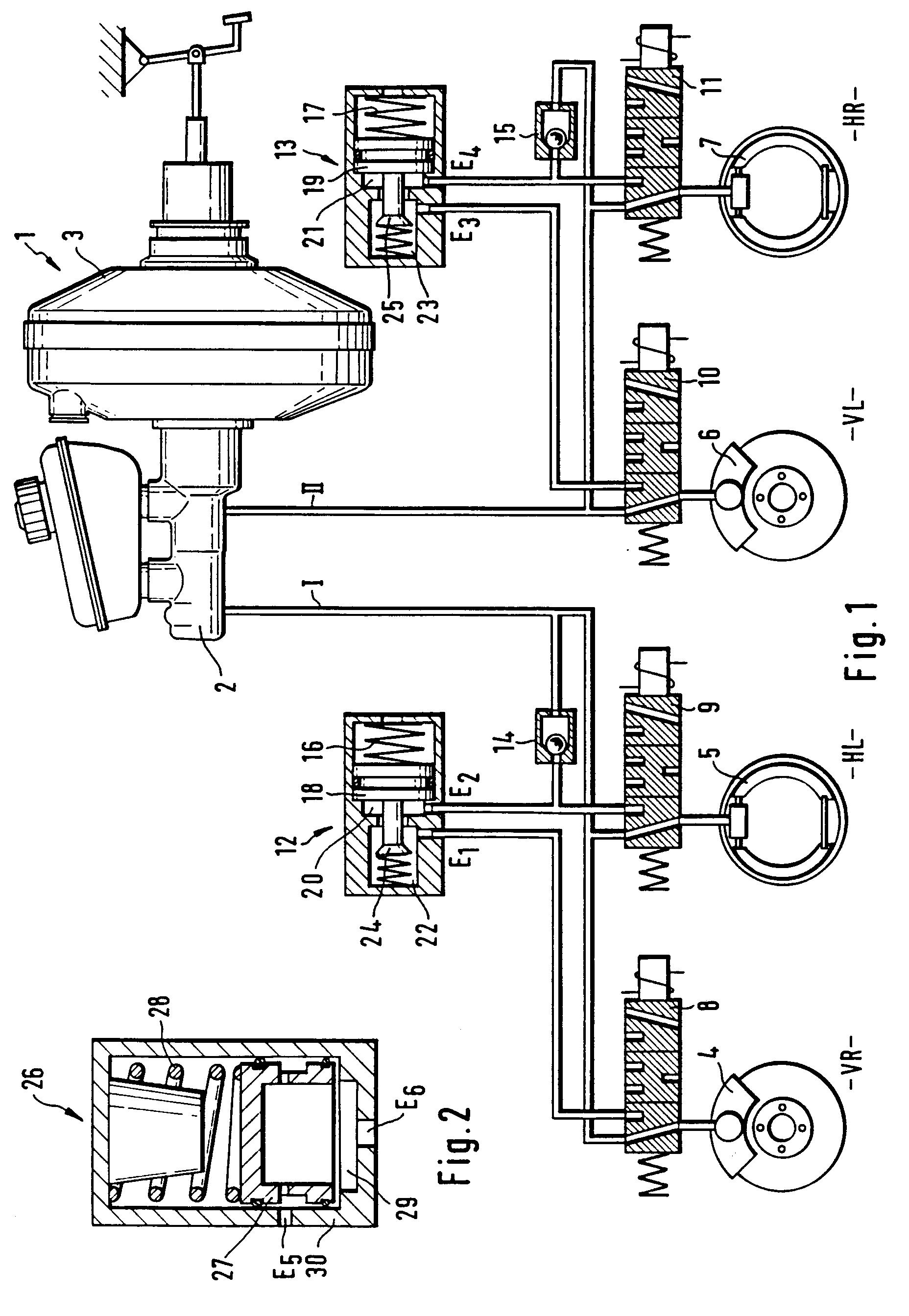 patent ep0726856b1 systeme de freinage a regulation antiblocage electronique google patents. Black Bedroom Furniture Sets. Home Design Ideas