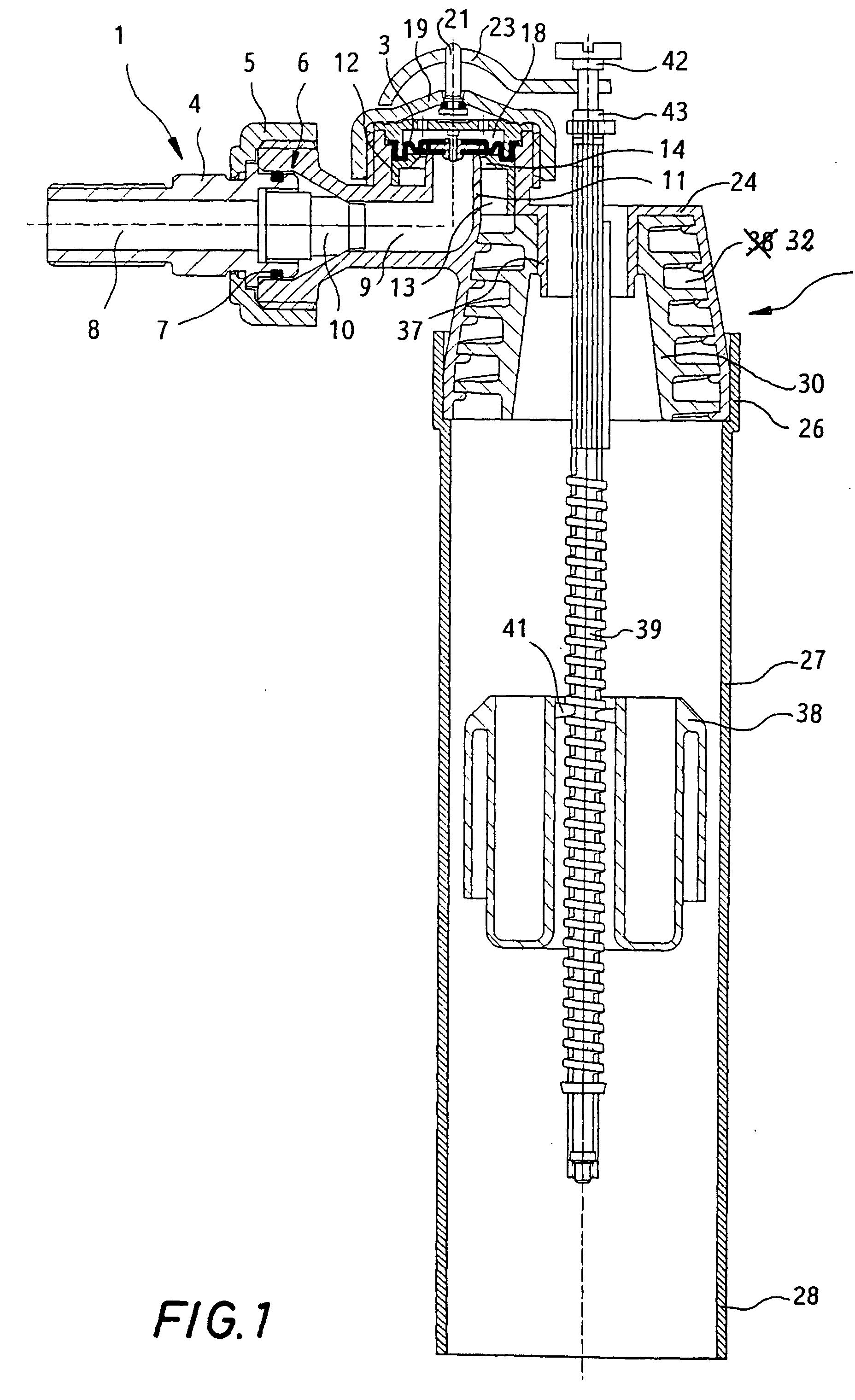 patent ep0731230b1 wc sp lkasten f llventil google patents. Black Bedroom Furniture Sets. Home Design Ideas