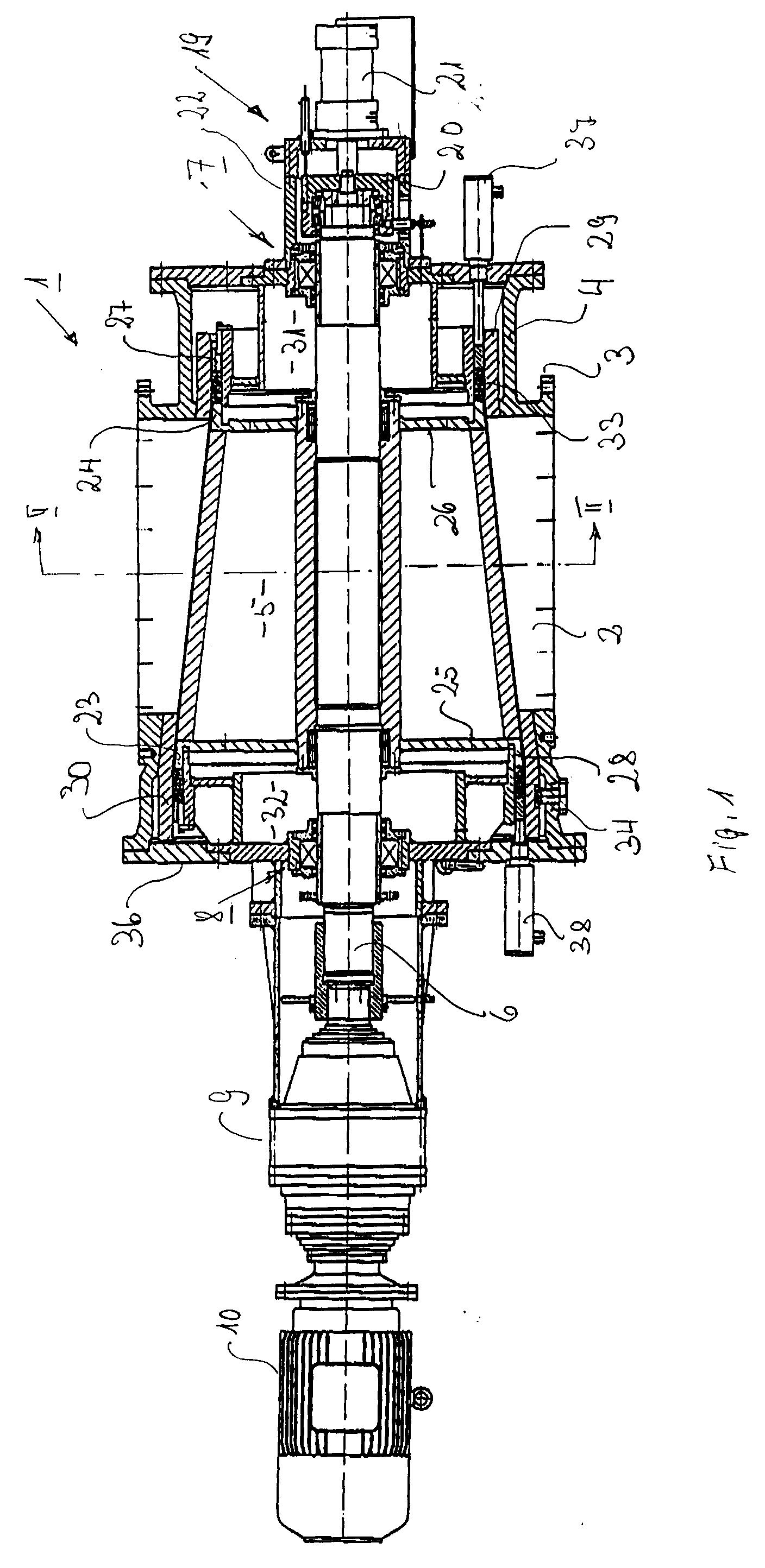 patent ep0732280a1 verfahren und vorrichtung zum abdichten von dampftrocknern bei ein und. Black Bedroom Furniture Sets. Home Design Ideas