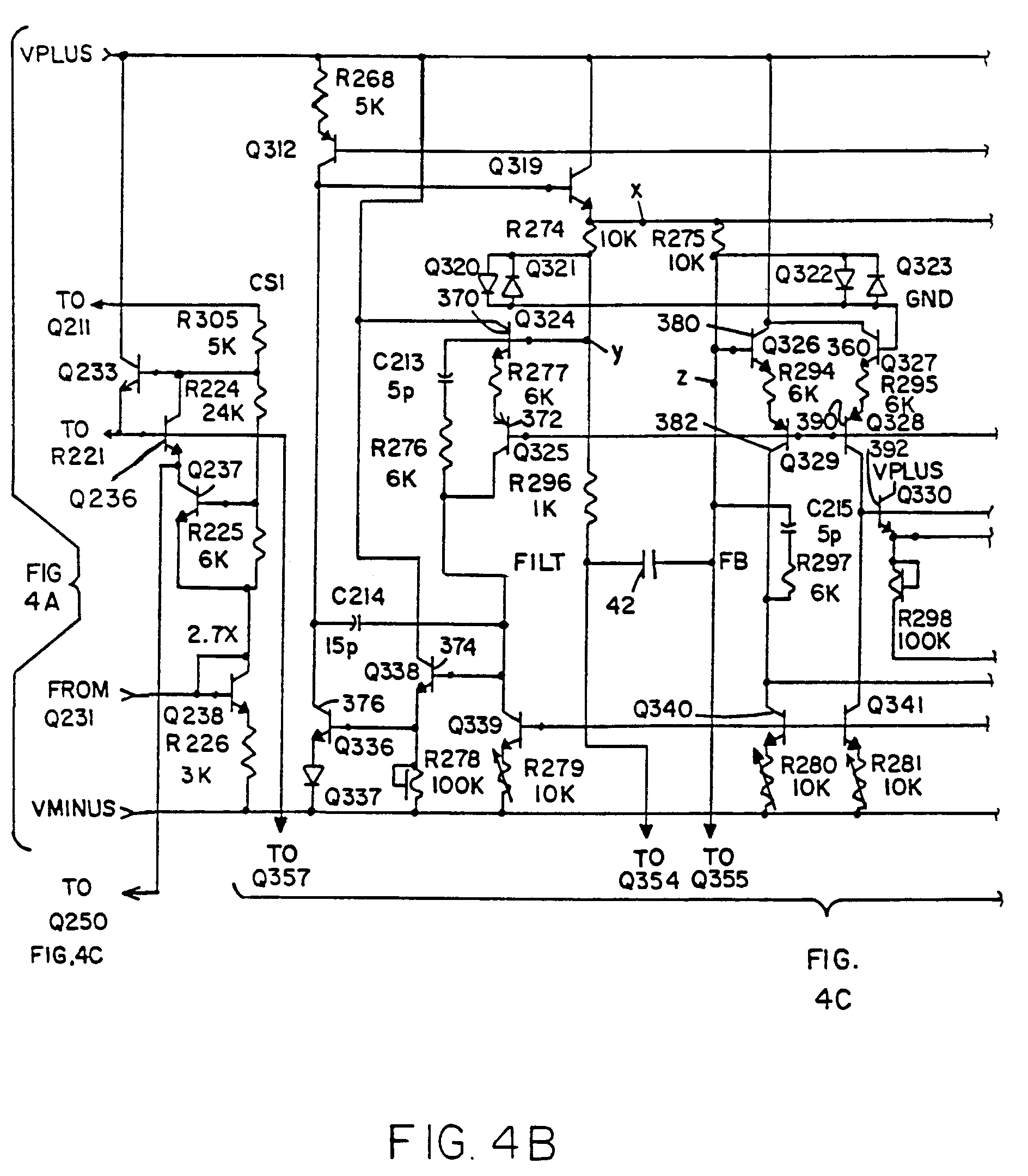 patent ep0741280a2 interface circuit for linear variable. Black Bedroom Furniture Sets. Home Design Ideas