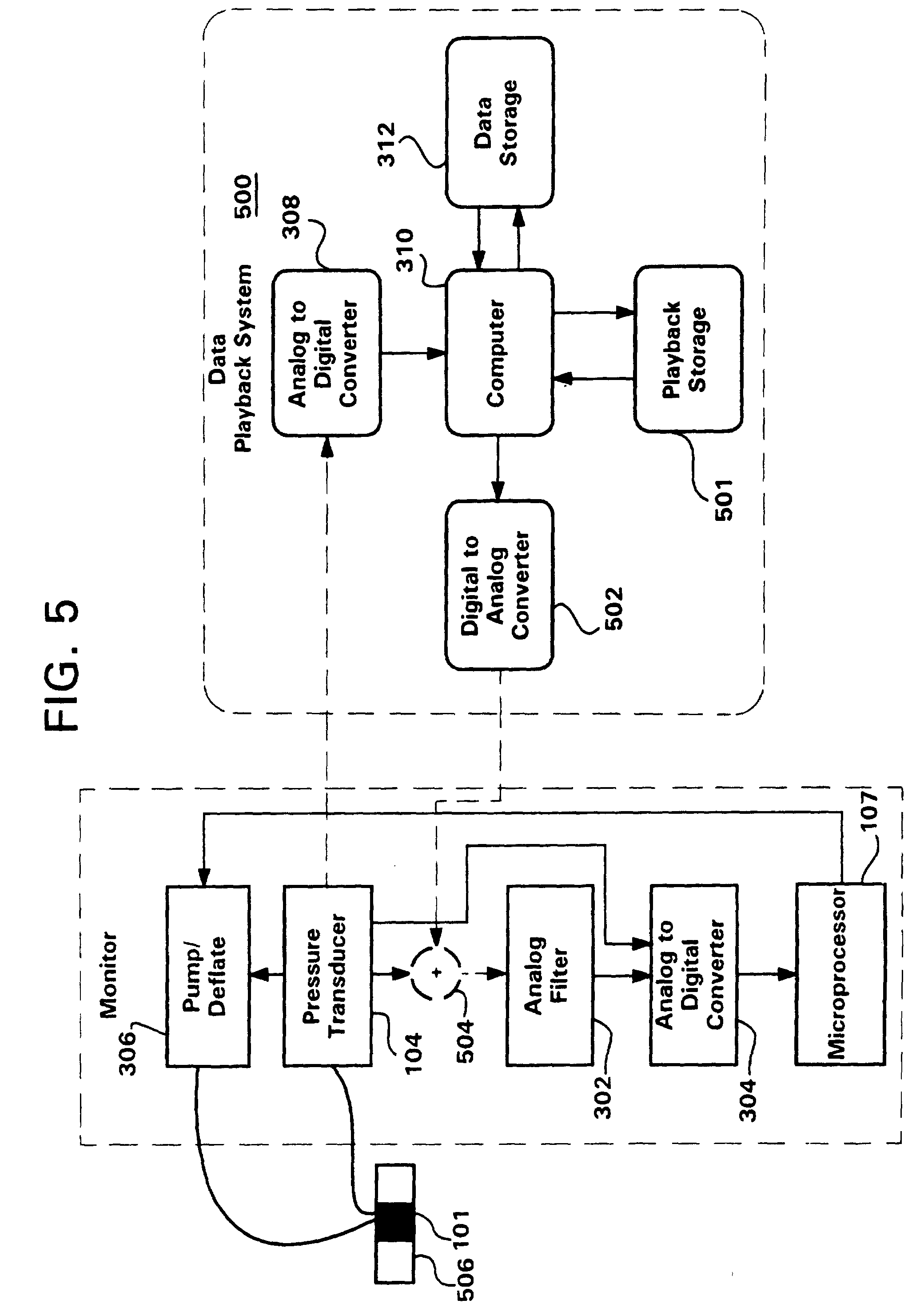 patent ep0748610b1 - nibp playback system