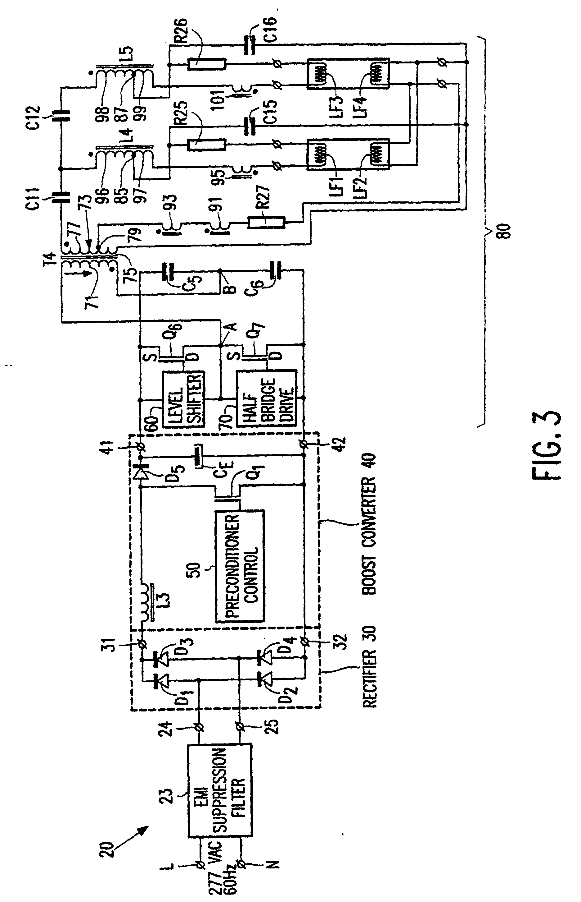 Patent Ep0774199b1 Ballast Circuit Google Patents T96 120 Volt Wiring Diagram Drawing