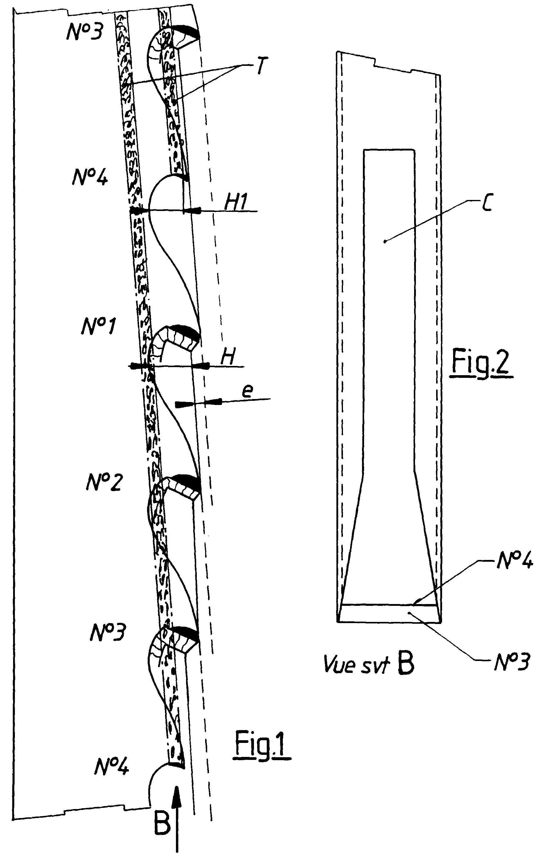 patent ep0777547b1 procede de fabrication d 39 une lame de. Black Bedroom Furniture Sets. Home Design Ideas