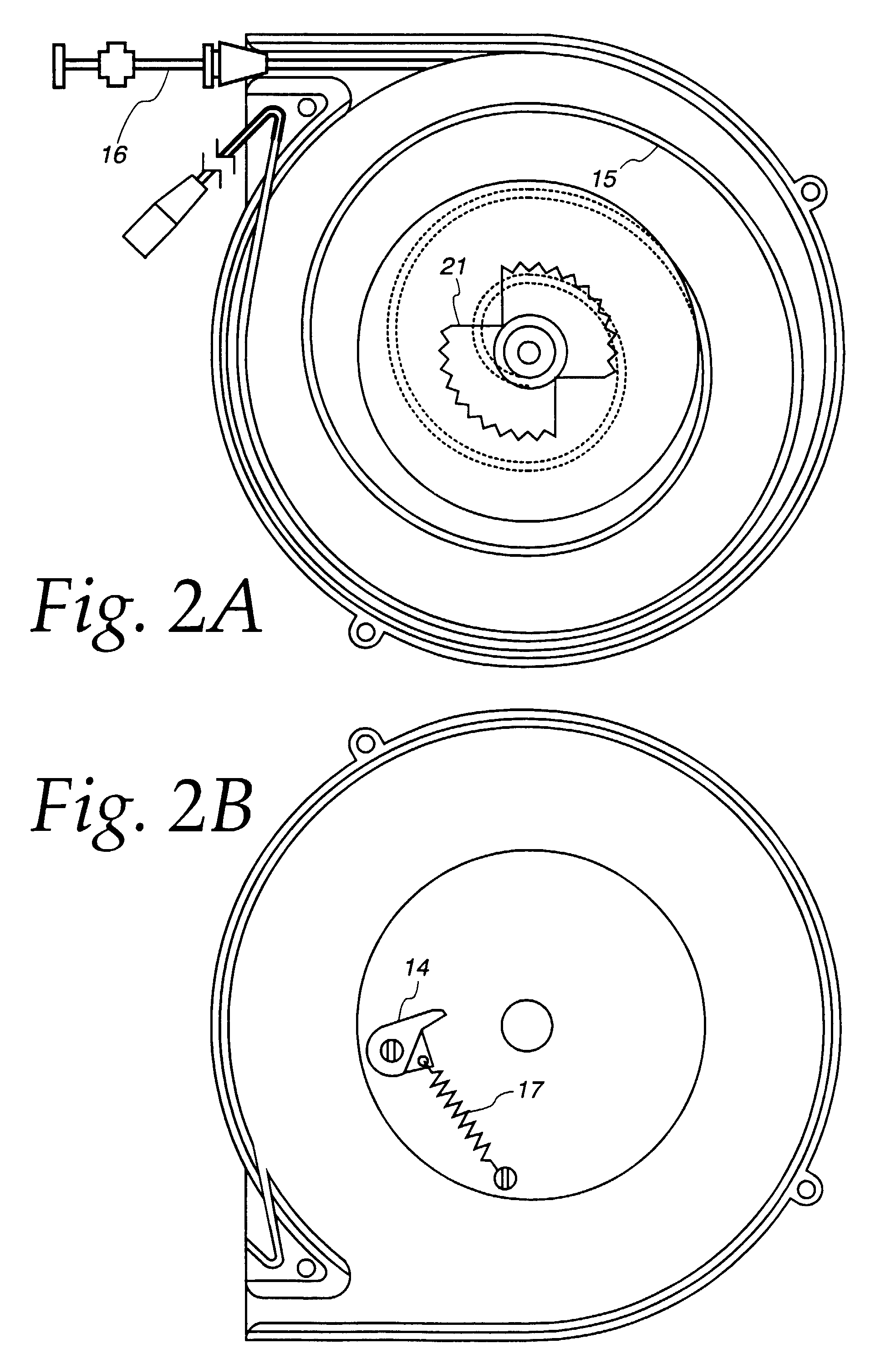 patent ep0778991b1 - cord reel assembly