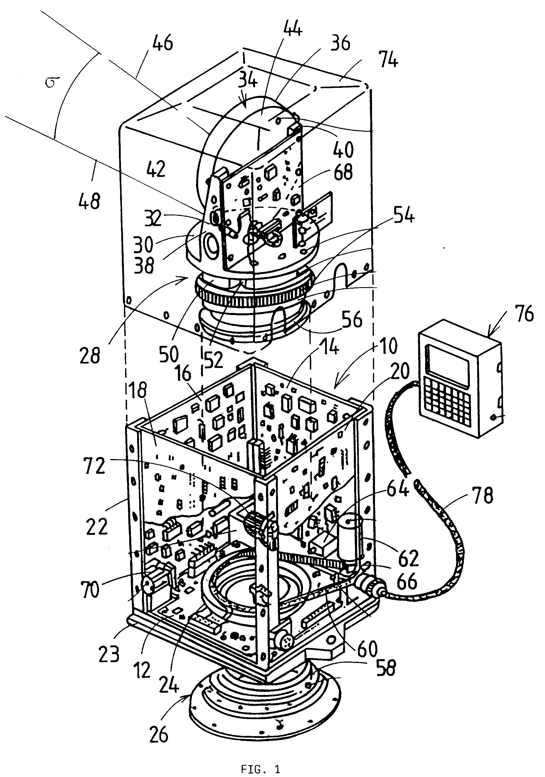 Patent EP0790485A2 - Inertial sensor arrangement - Google Patents