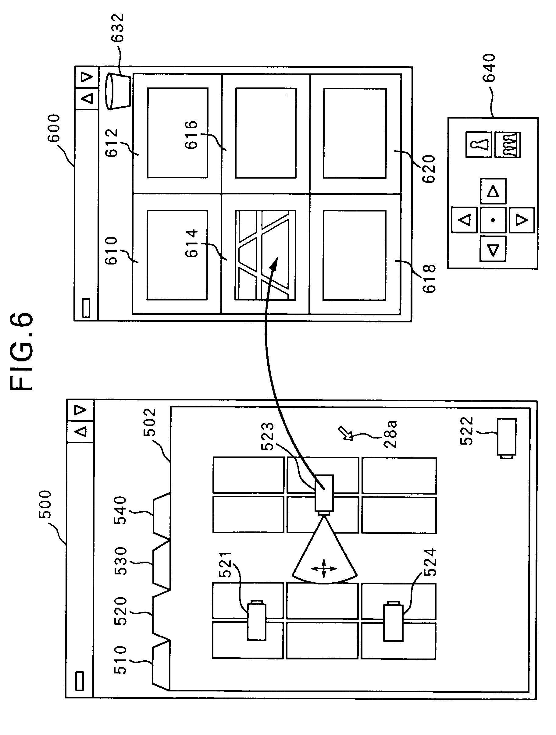 patent ep0804031a2 bildanzeigeger t verfahren und ger t zur kamerasteuerung google patentsuche. Black Bedroom Furniture Sets. Home Design Ideas