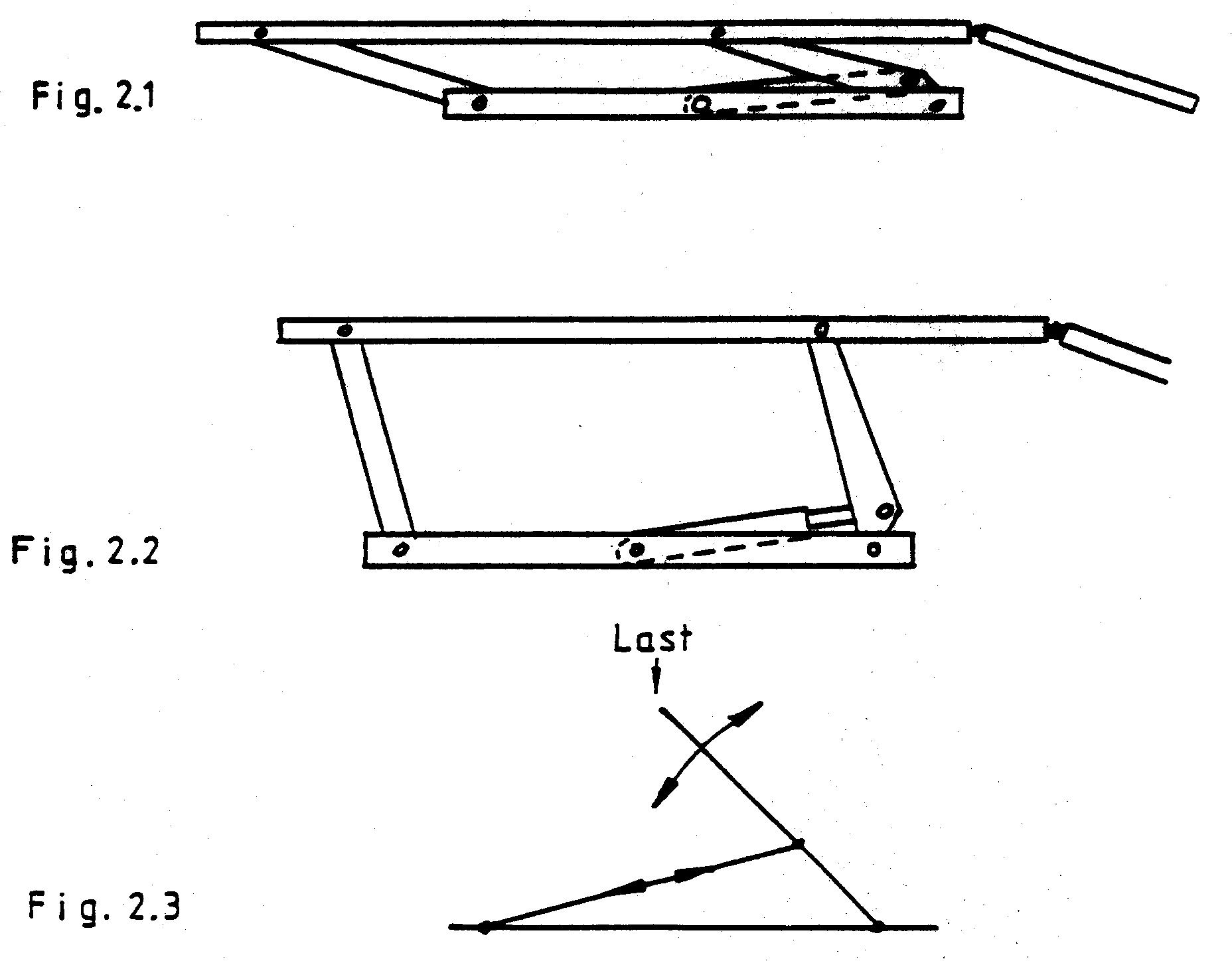patent ep0819039b1 hydraulische hebeb hne insbesondere. Black Bedroom Furniture Sets. Home Design Ideas