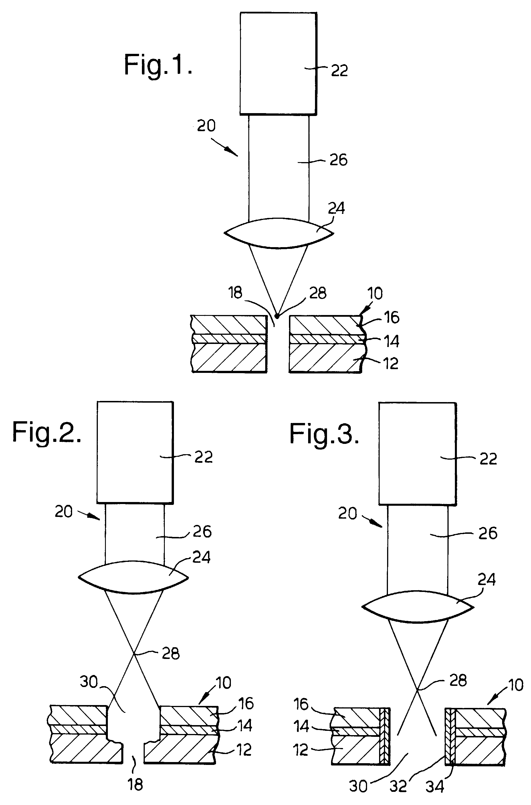 Patent EP A1 A method of drilling a hole in a workpiece