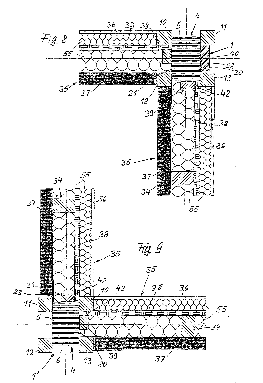 Holzskelettbau detail  Patent EP0826844B1 - Leimholzstütze für Holzskelettbauweise ...