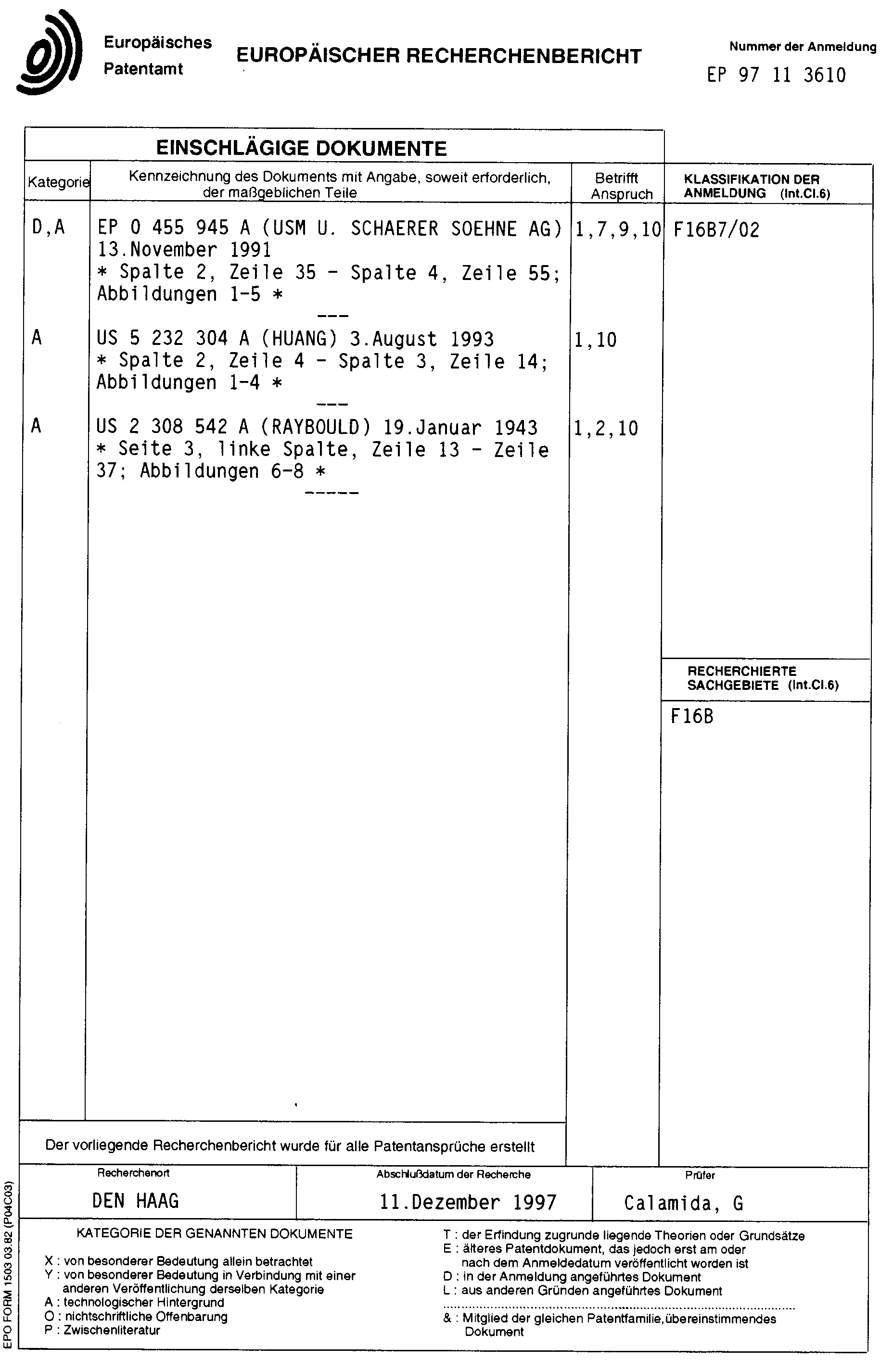 Datum Verbindungsstellen