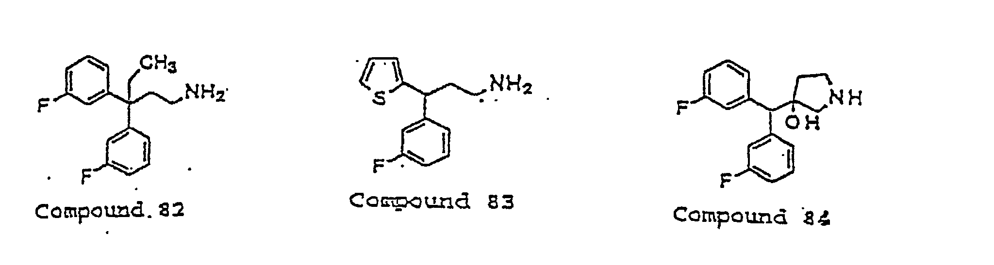 EP0831799B1 - Compounds active at a novel site on receptor ...