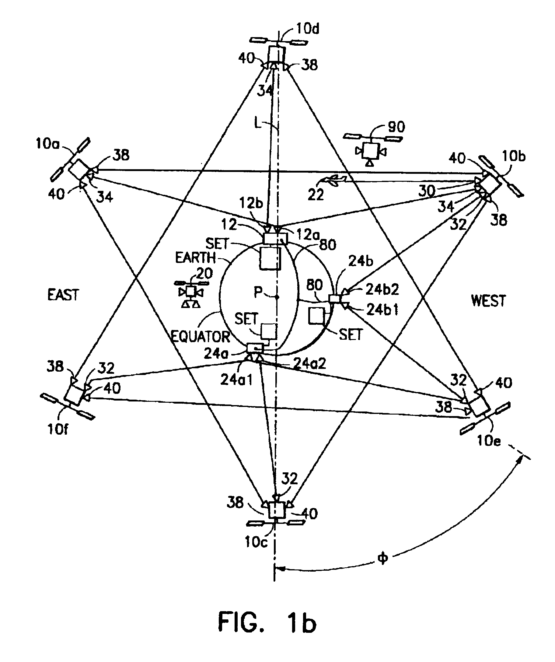Patent EP0833462A3 - Medium earth orbit communication ...