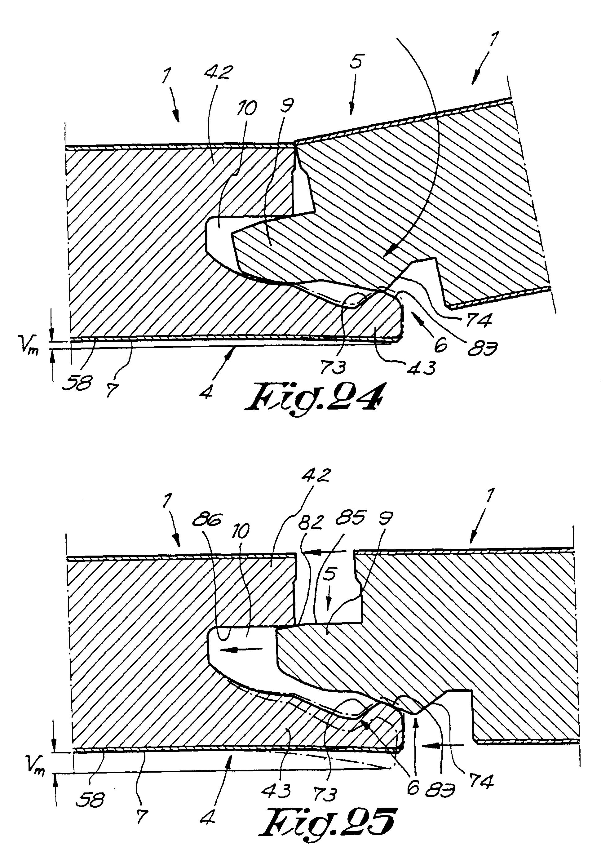 patent ep0843763b1 bodenbelag bestehend aus harten bodenplatten und verfahren zur herstellung. Black Bedroom Furniture Sets. Home Design Ideas