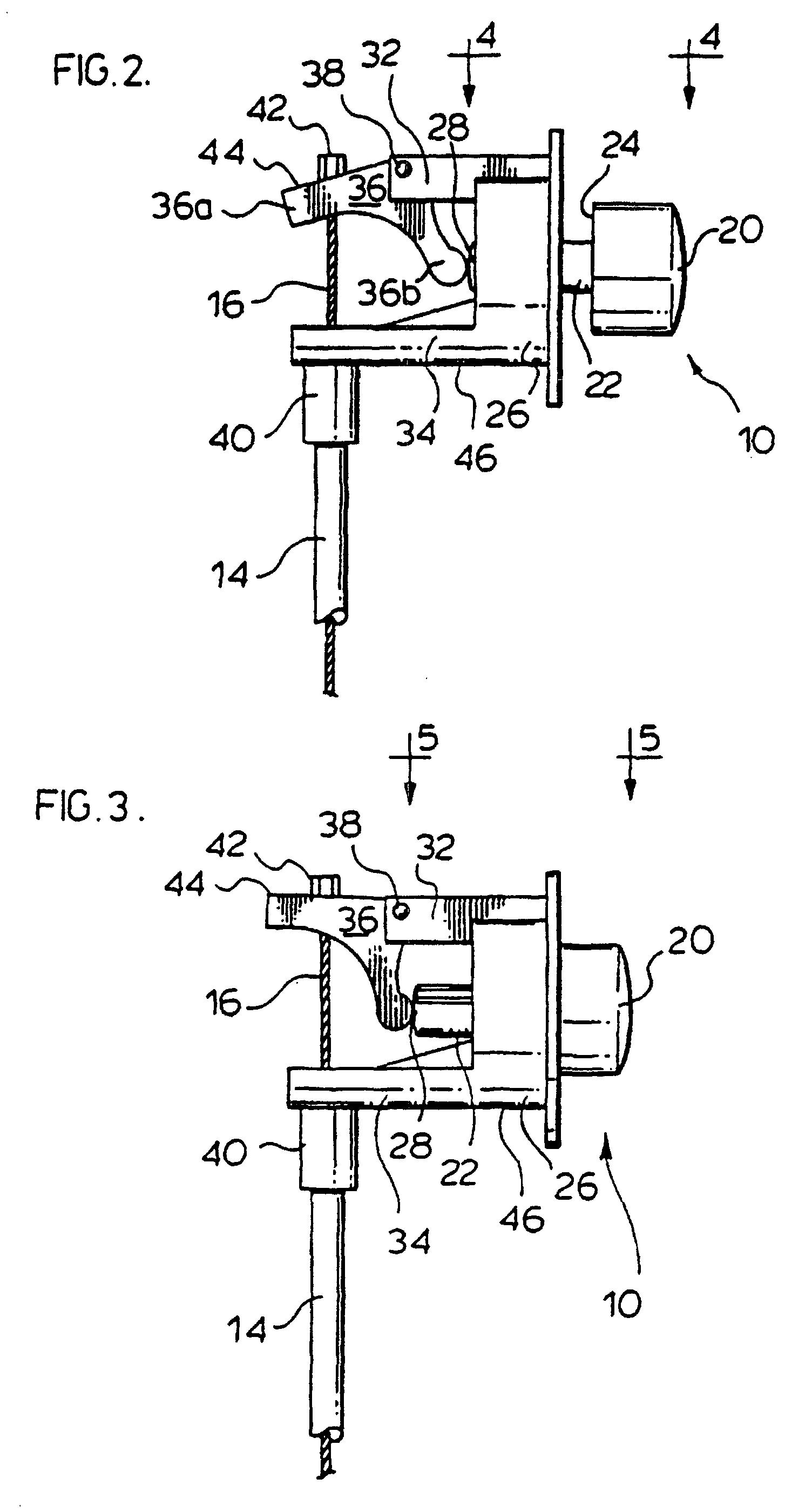 Patent ep0850005b1 verstellvorrichtung f r einen stuhl for Stuhl design dwg