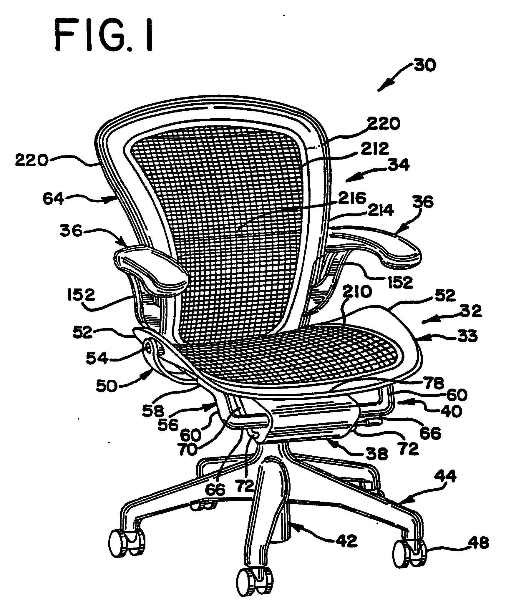 Patent ep0857443b1 tragkonstruktion f r einen stuhl for Stuhl design dwg