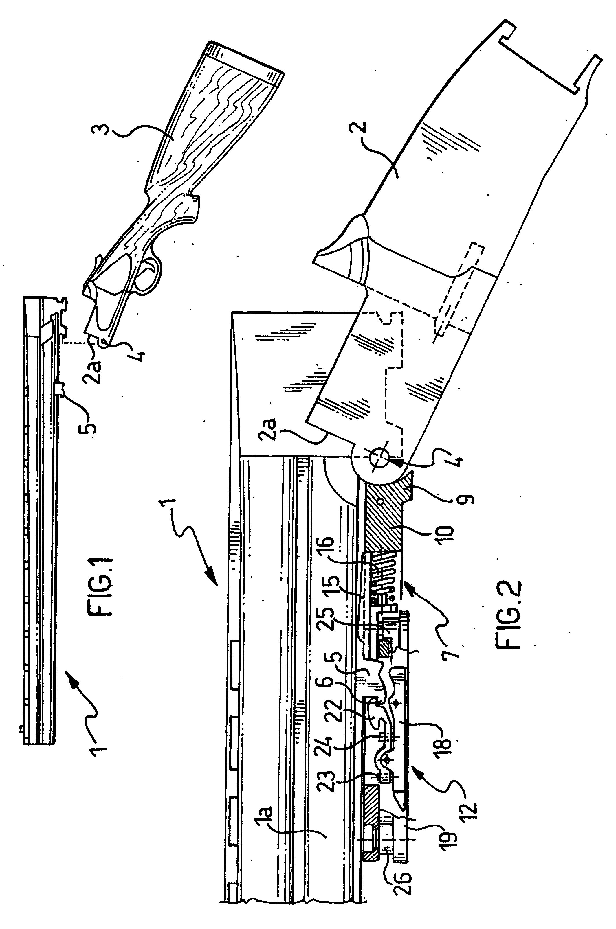 Patent Ep0862040b1 A Break Action Shotgun With A Device