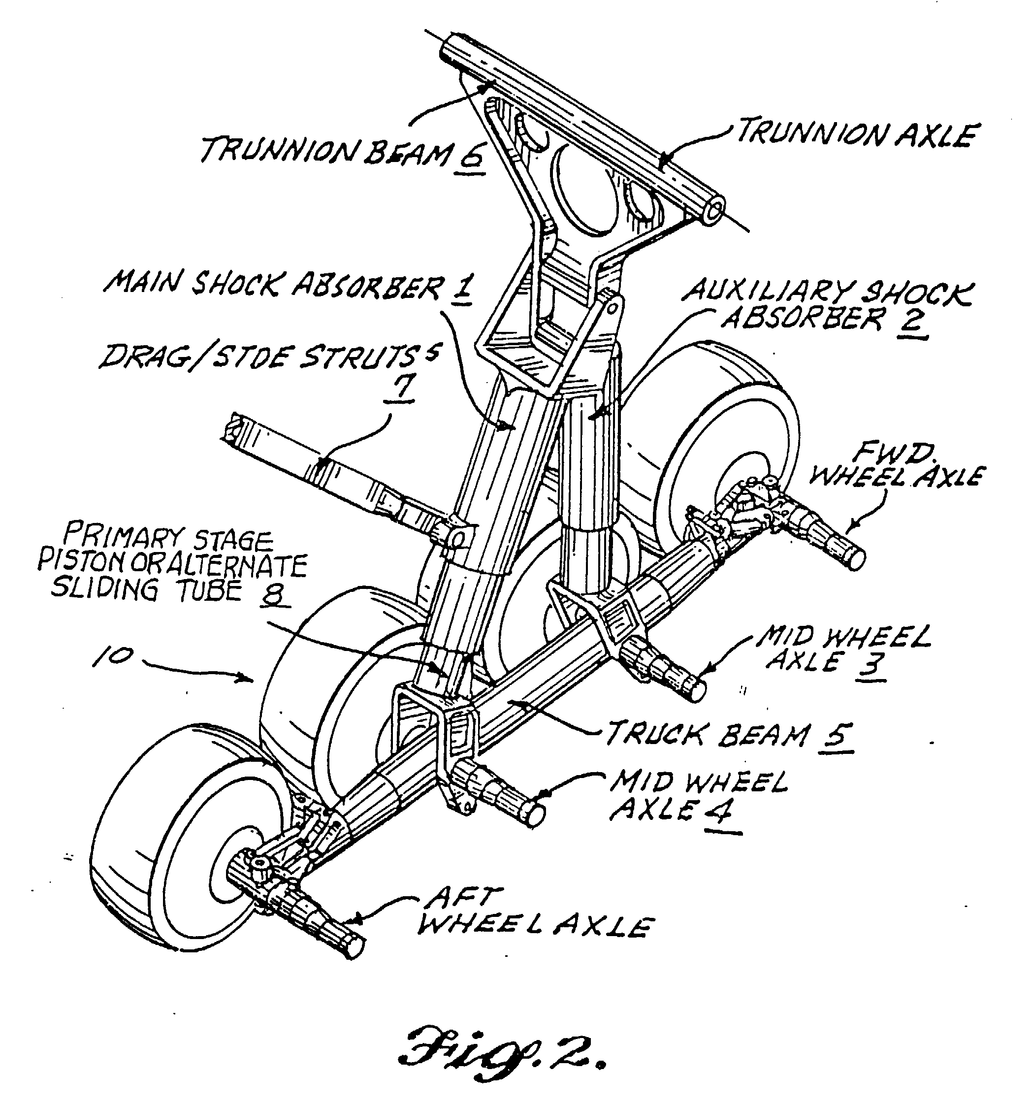 Shock Diagram Undercarriage 27 Wiring Images Jeep Cj Suspension Parts Years 197686 Including Pivot Eye Bushings Patent Ep0865986a2 Very Large Aircraft Landing Gear Having Eight