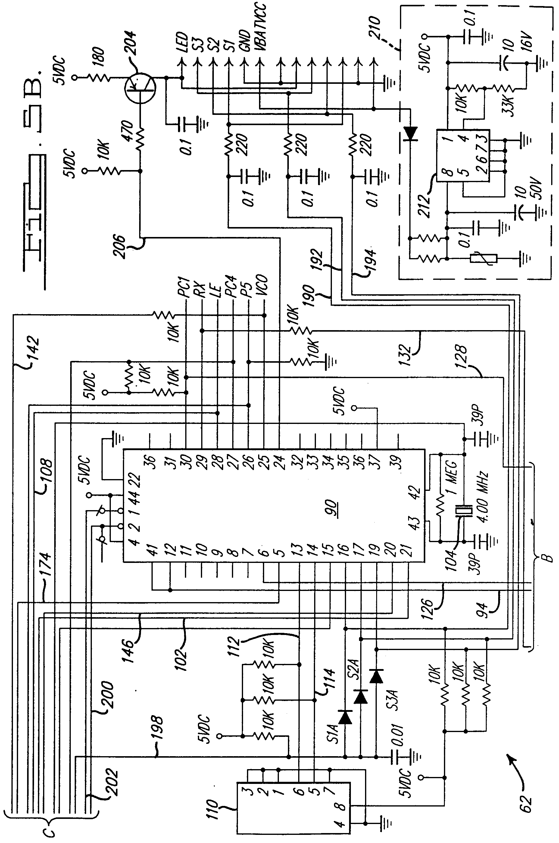 00350001 patent ep0875646a1 universal garage door opener google patents garage door opener wiring schematic at n-0.co
