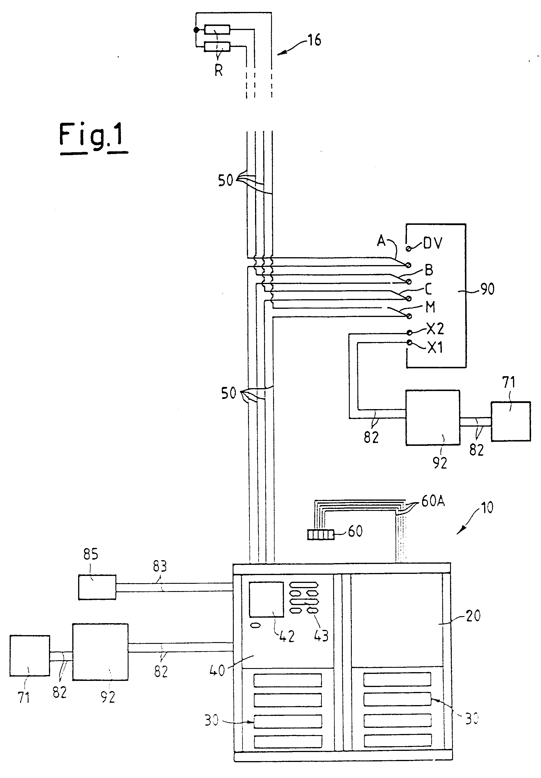 Patent EP0876044A2 - Electric connection system for ... on