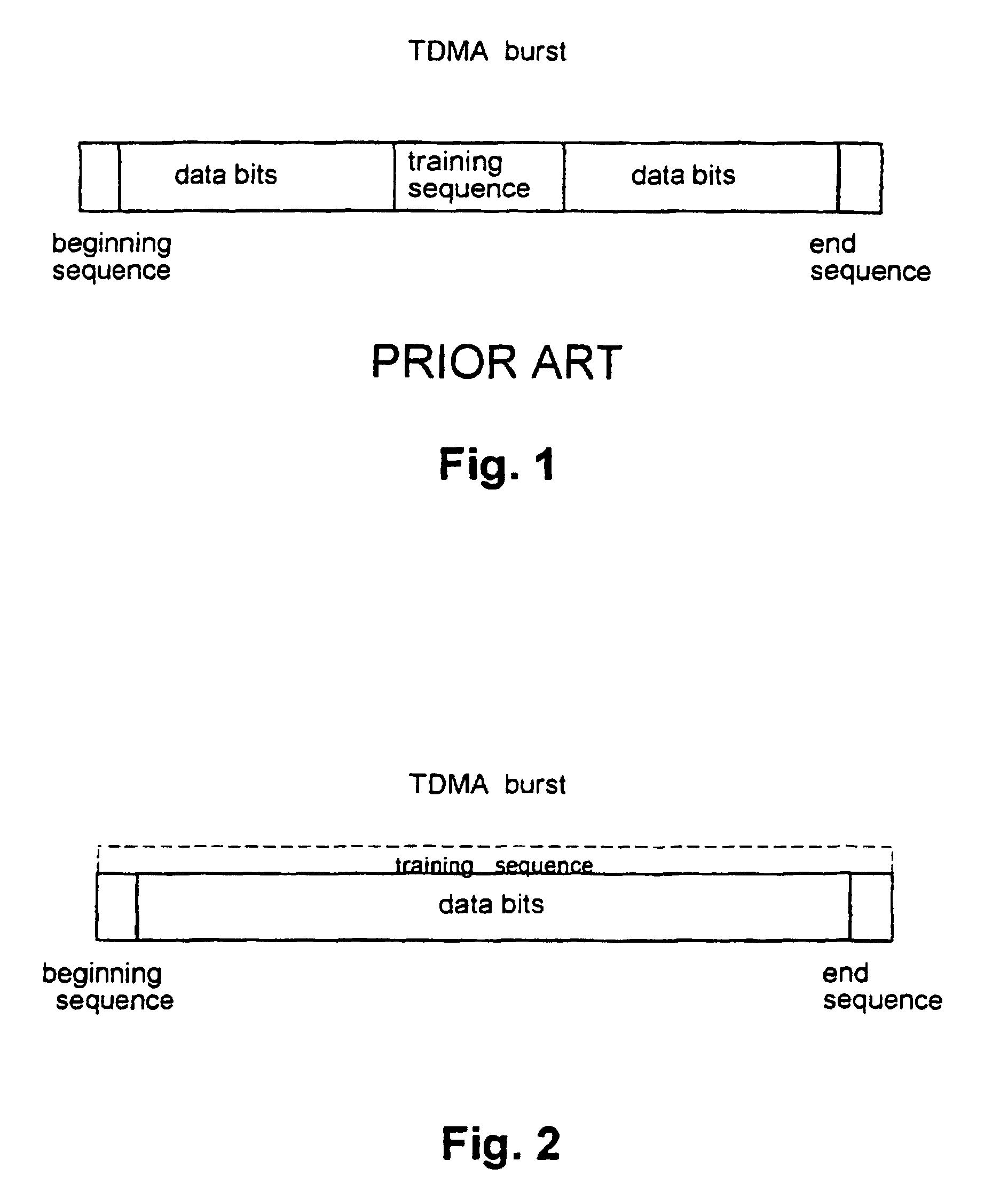 patent ep0876719b1 verfahren sender und empf nger zur bertragung von trainingssignalen in. Black Bedroom Furniture Sets. Home Design Ideas
