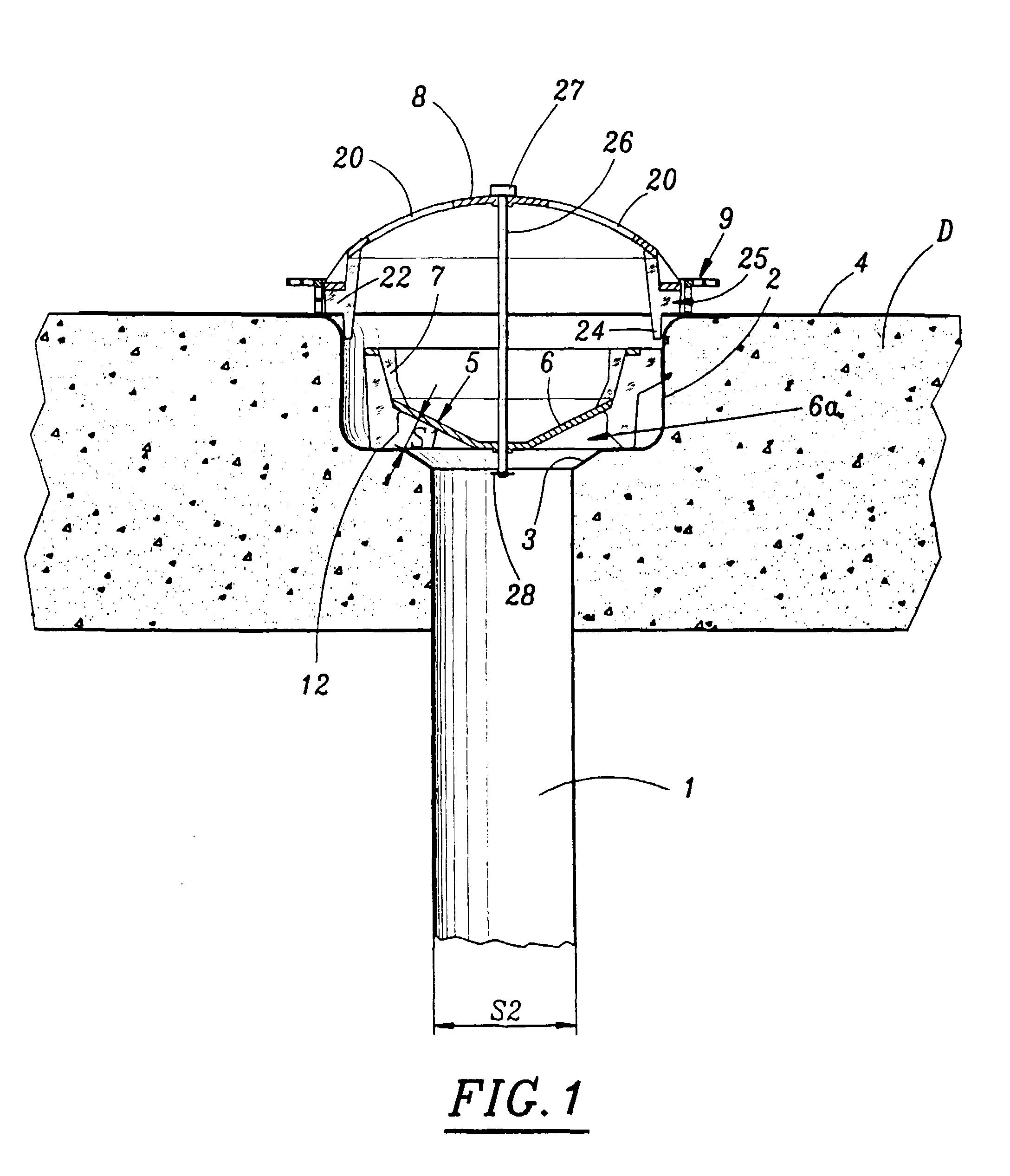 patent ep0891461b1 dispositif d 39 evacuation des eaux pluviales de la surface d 39 une toiture de. Black Bedroom Furniture Sets. Home Design Ideas