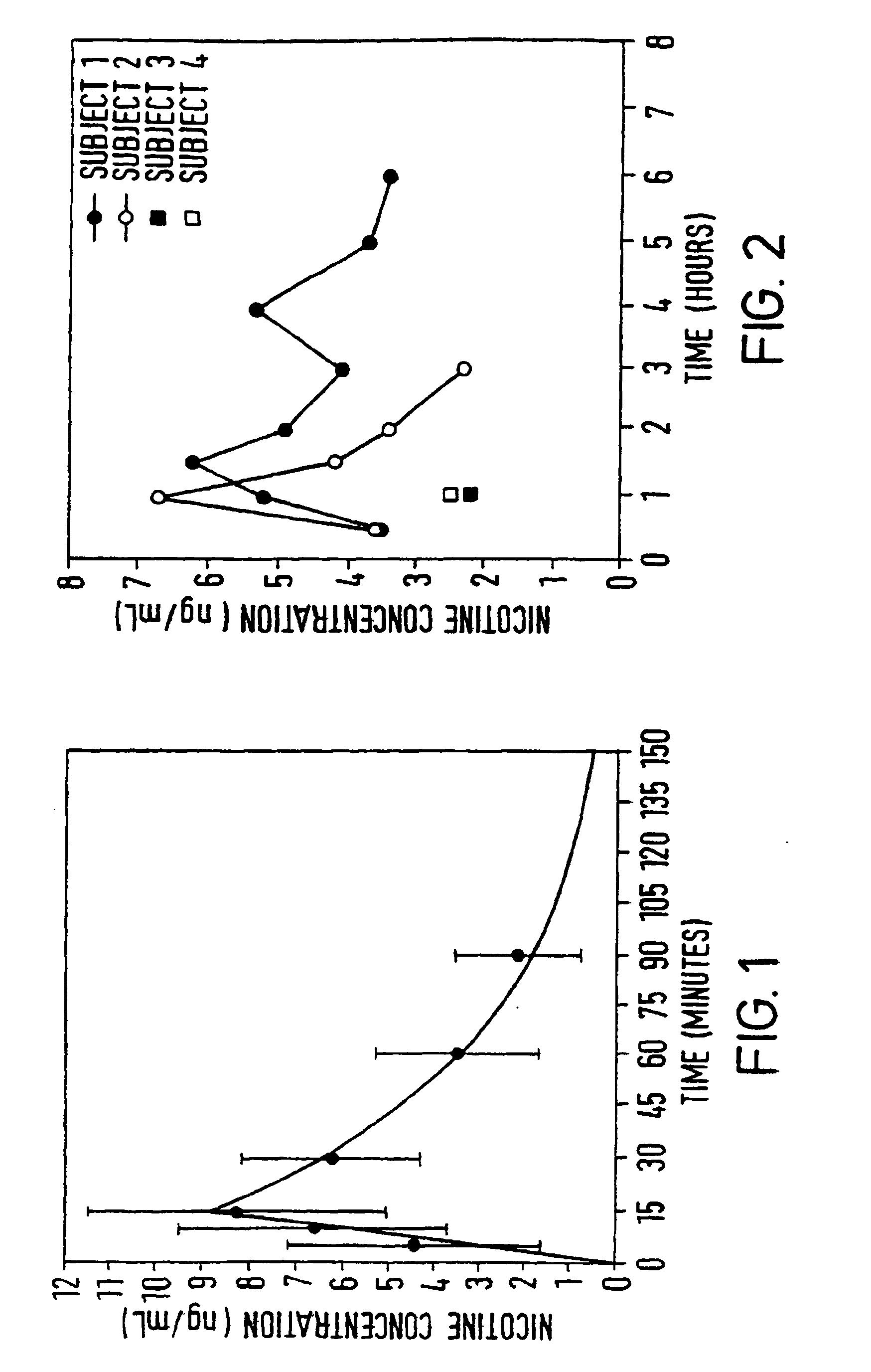patent ep0893998b2 verabreichung von nikotin im dickdarm. Black Bedroom Furniture Sets. Home Design Ideas