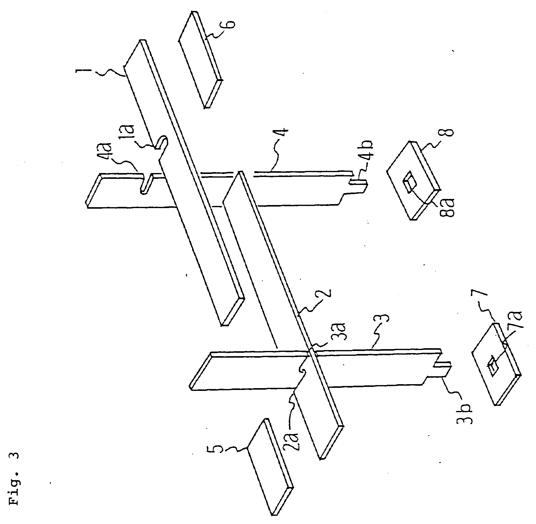 Patent EP A2 Double cross type seal device for stationary
