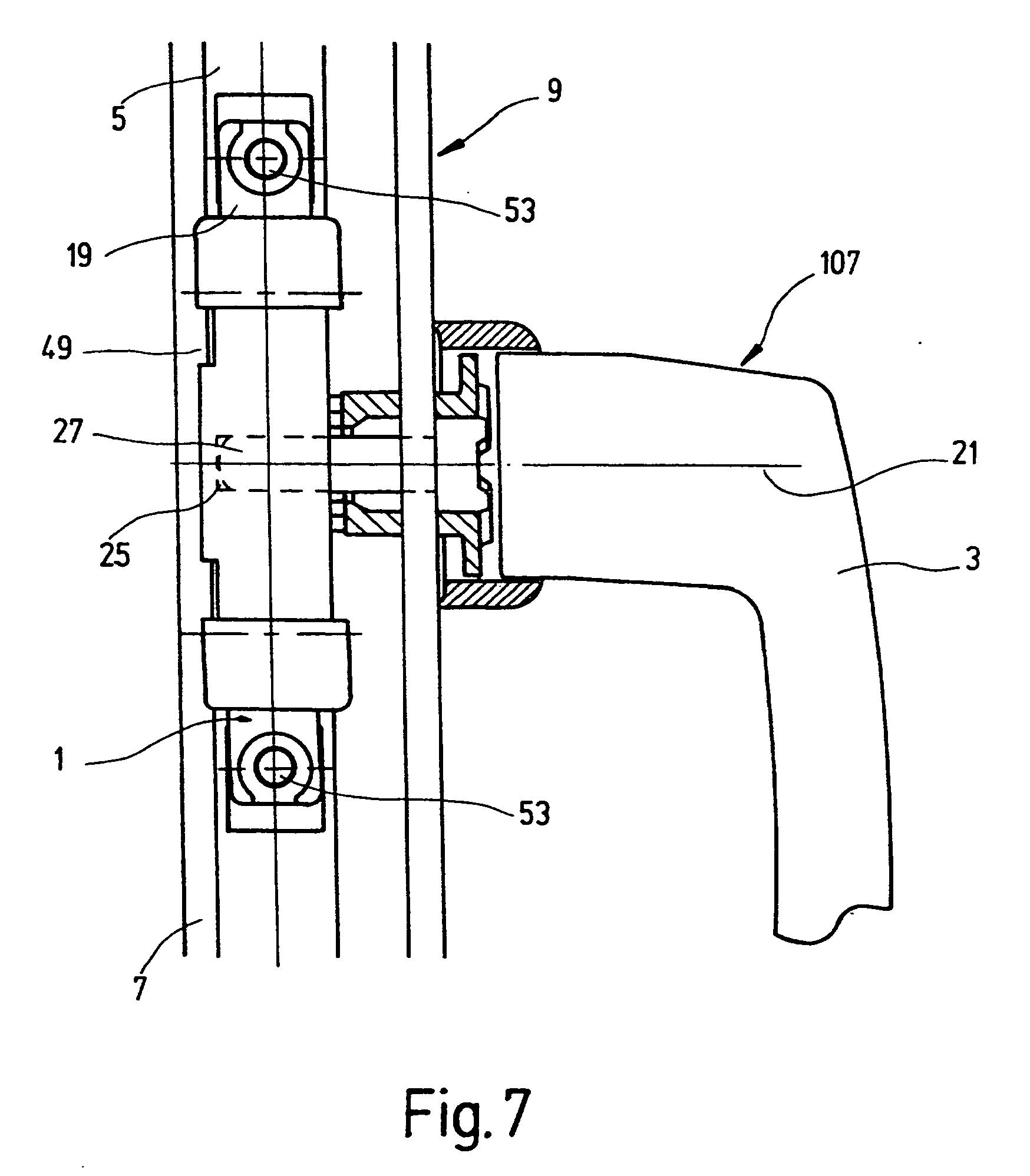 Patent ep0913546b1 ferrure pour le m canisme de commande for Fenetre de commande
