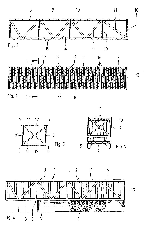 patent ep0914986b1 sattelauflieger zum transport von gasflaschen mit hohem betriebsdruck. Black Bedroom Furniture Sets. Home Design Ideas