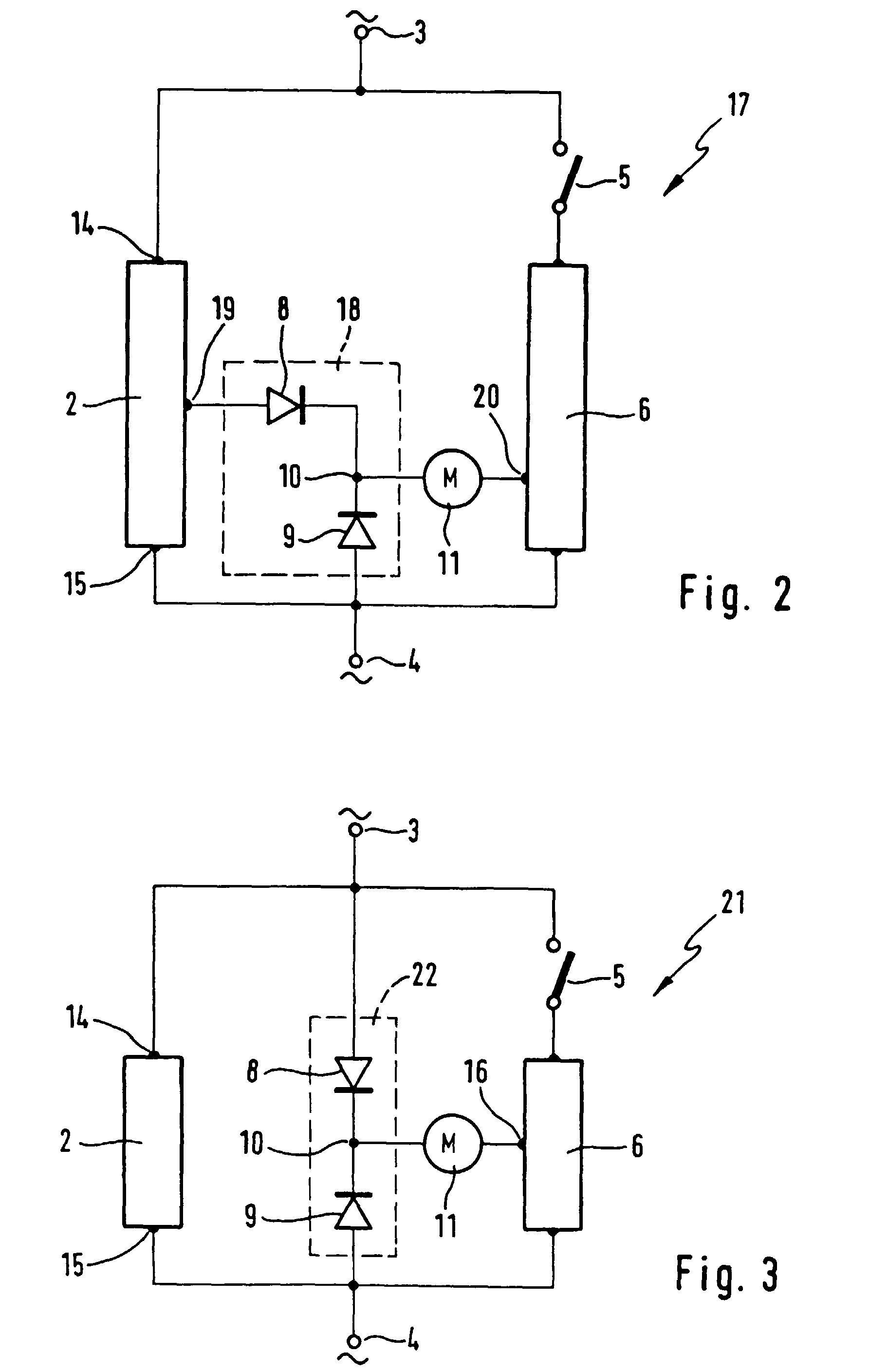 electric motor bedradings schema rectifier