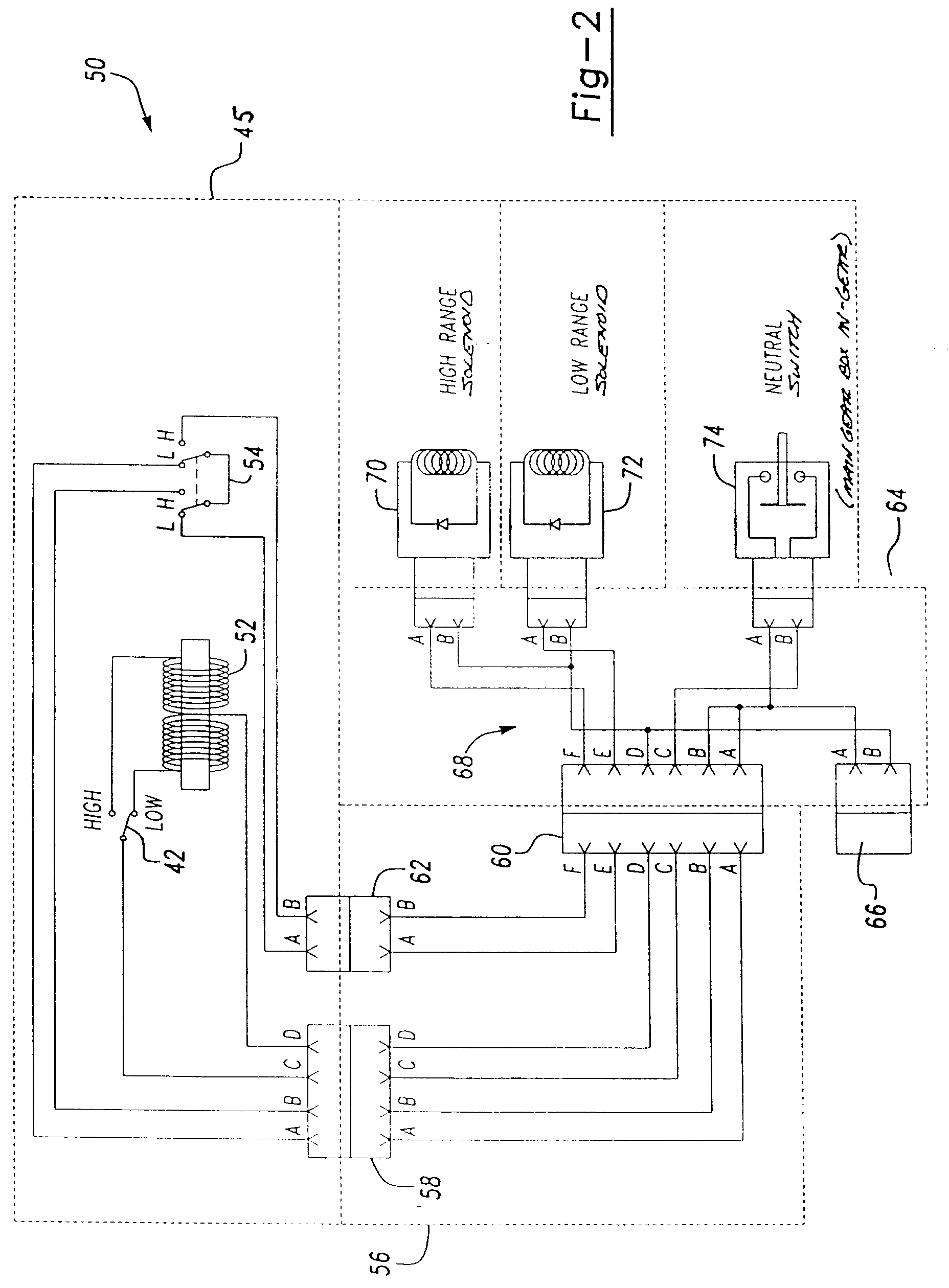 patent epa electrical transmission range shift system patent drawing
