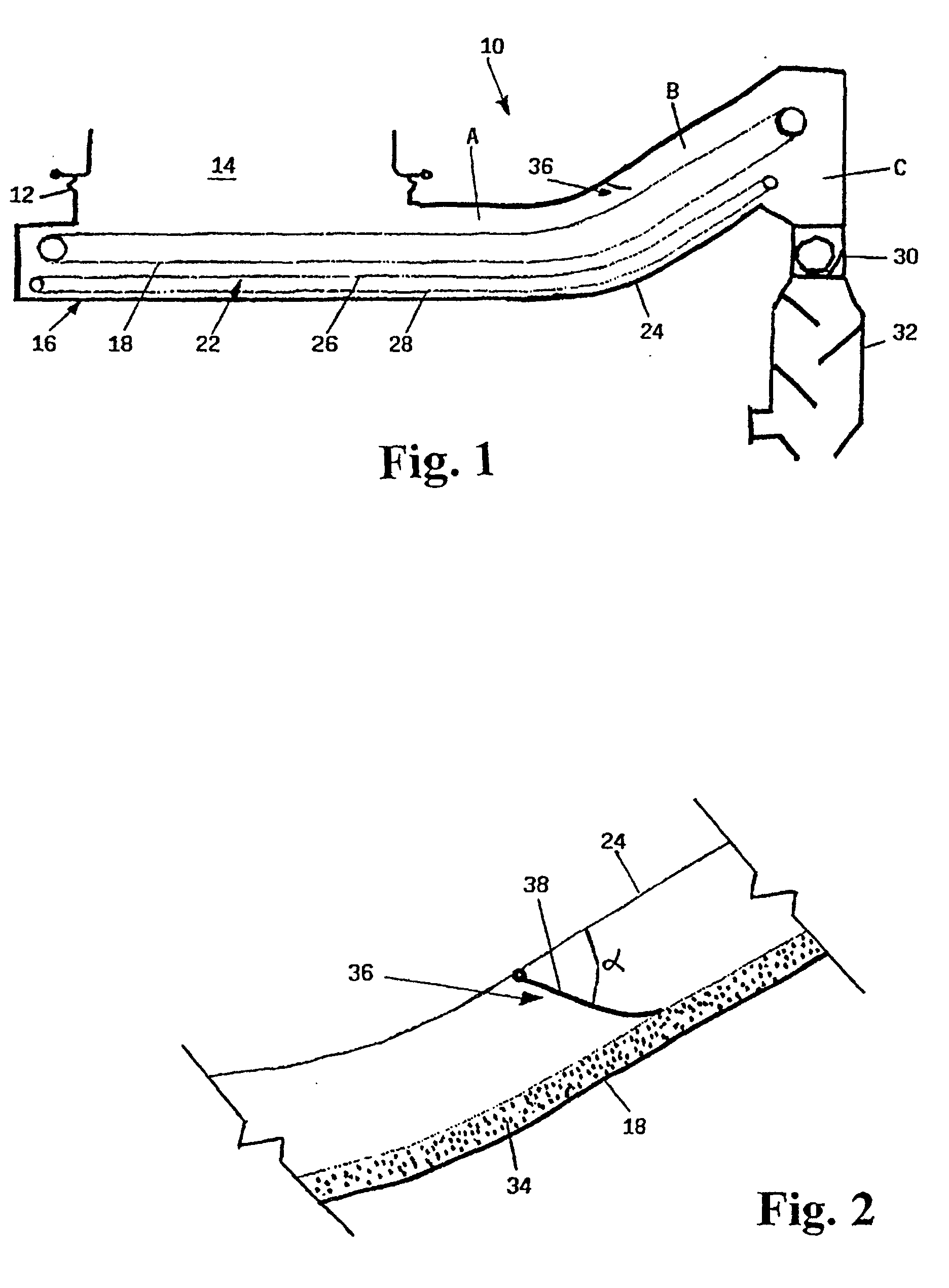 Patent EP0931981B1 - Apparatus and method for postcombustion of ...