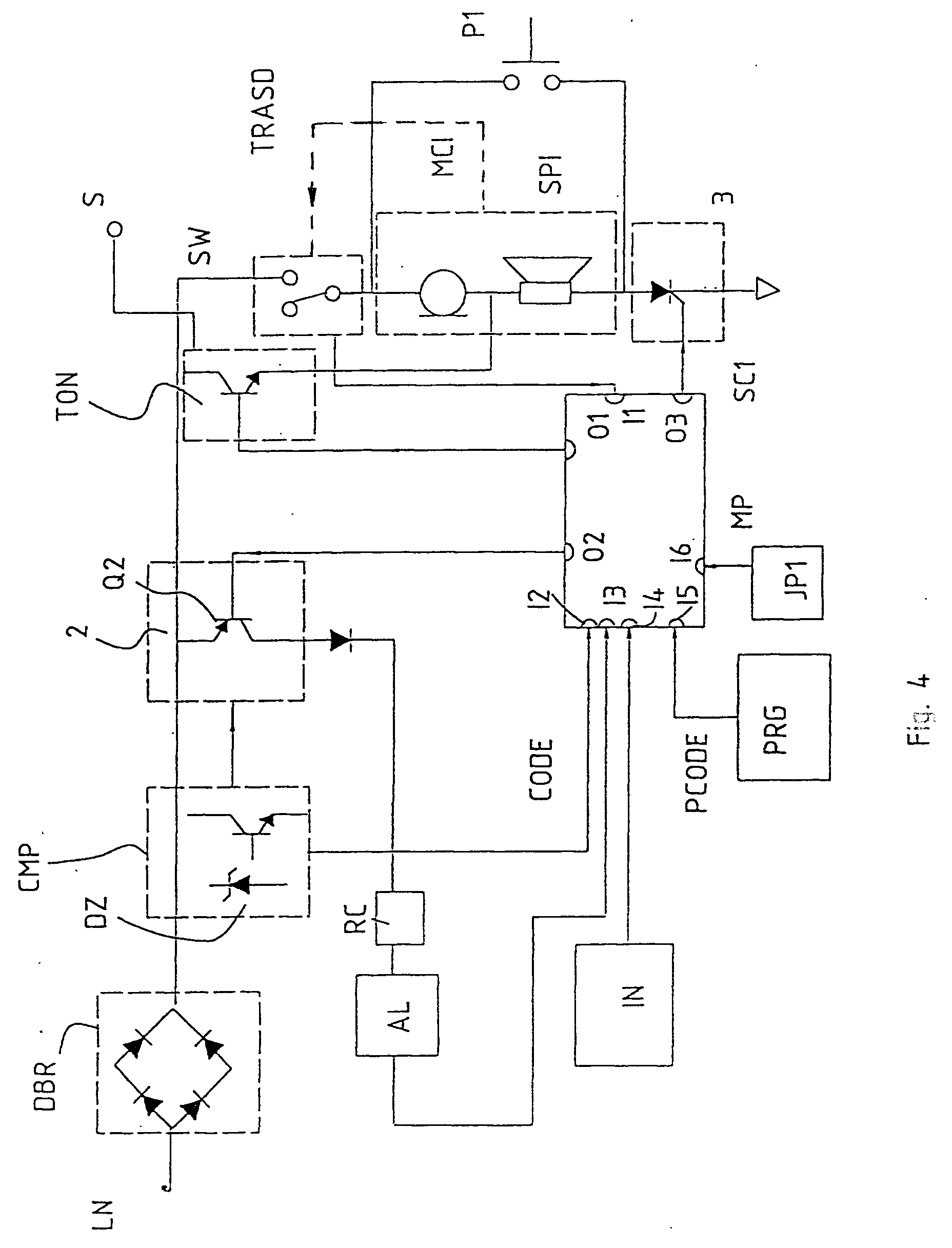 00250001 patent ep0946035a2 two wires intercom system google patents 2Wire Intercom Schematic at gsmx.co