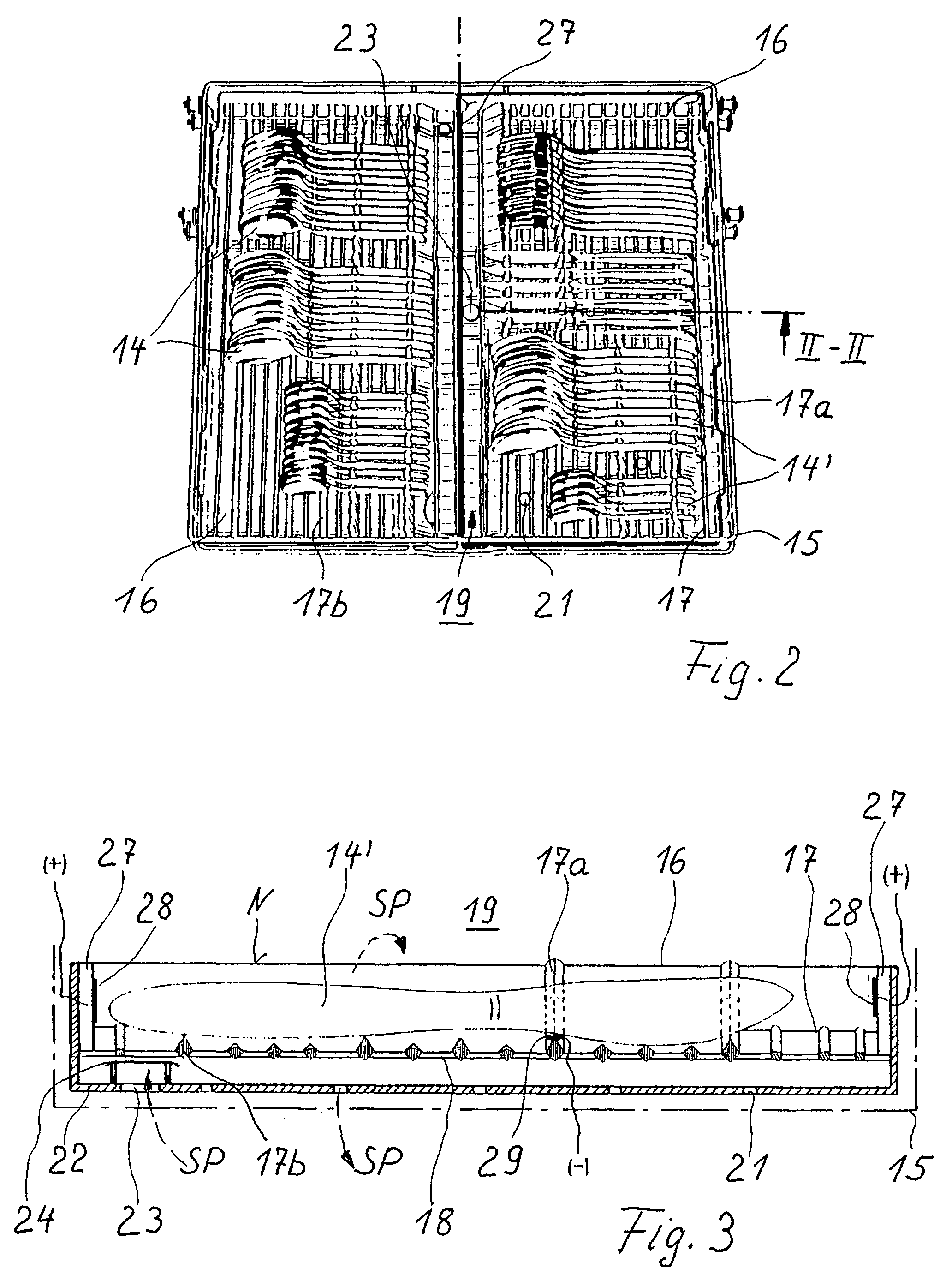 Patent EP0966913B1  Verfahren zum Spülen, Reinigen und  ~ Geschirrspülmaschine Reinigen
