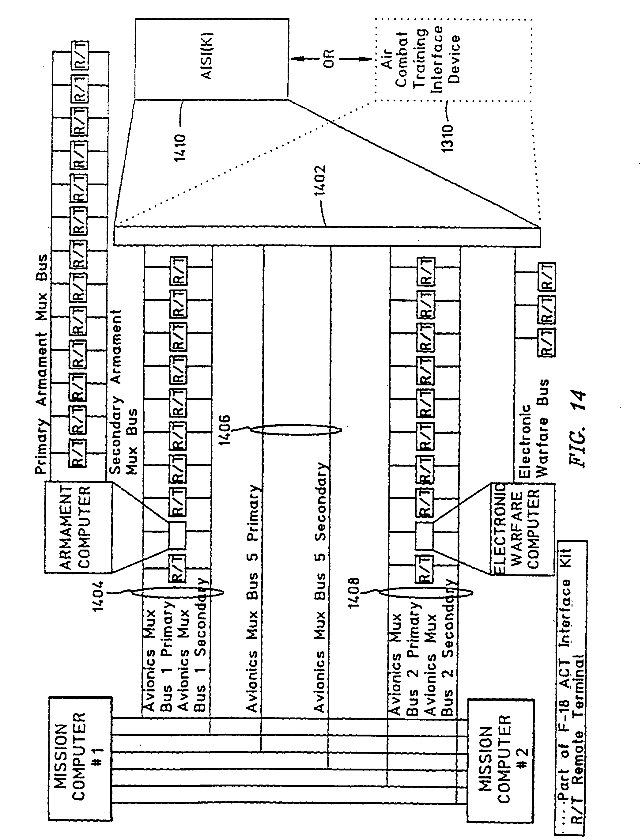 00720001 patent ep0972168b1 aircraft interface device and crossover cable medallion mdc 1600 wiring diagram at soozxer.org