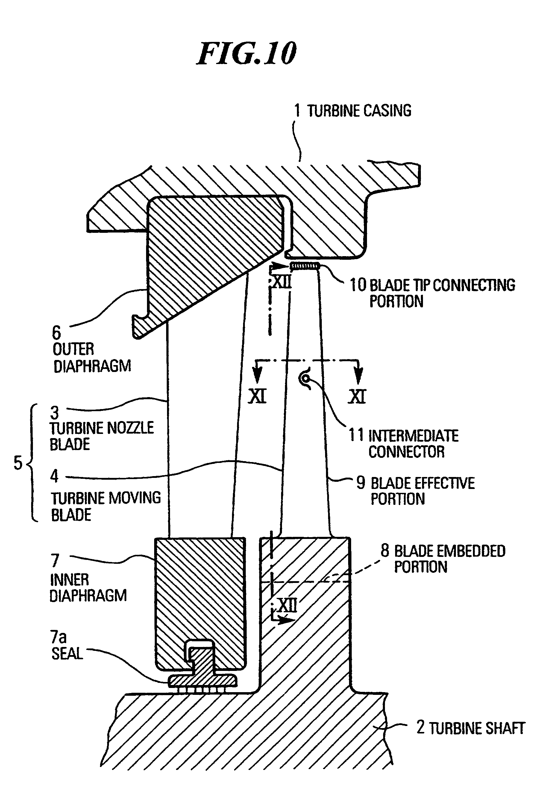 Patent EP B1 Blade configuration for steam turbine
