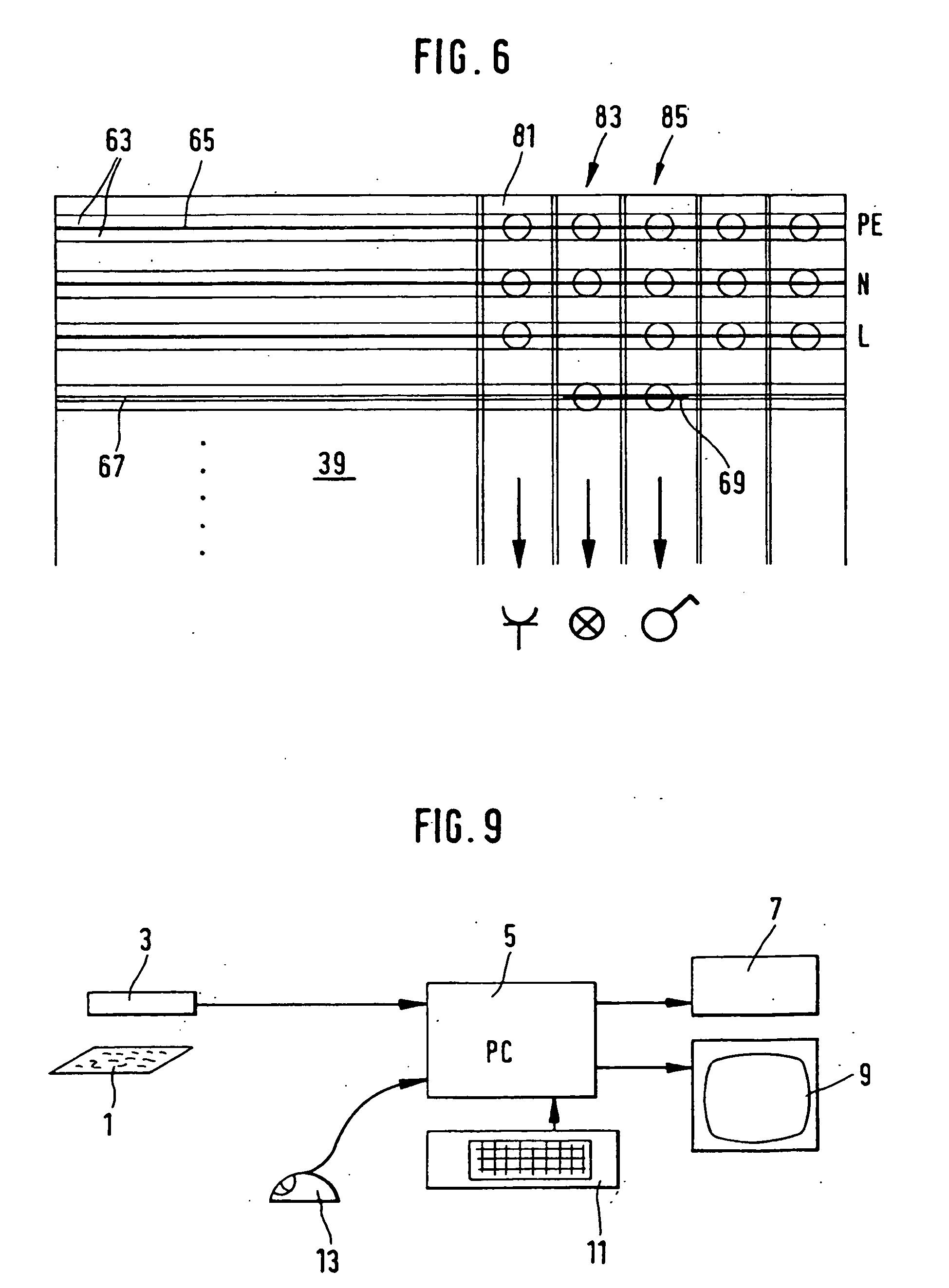 patent ep0992045b1 verfahren zum ausf hren einer elektroinstallation und bausatz f r. Black Bedroom Furniture Sets. Home Design Ideas