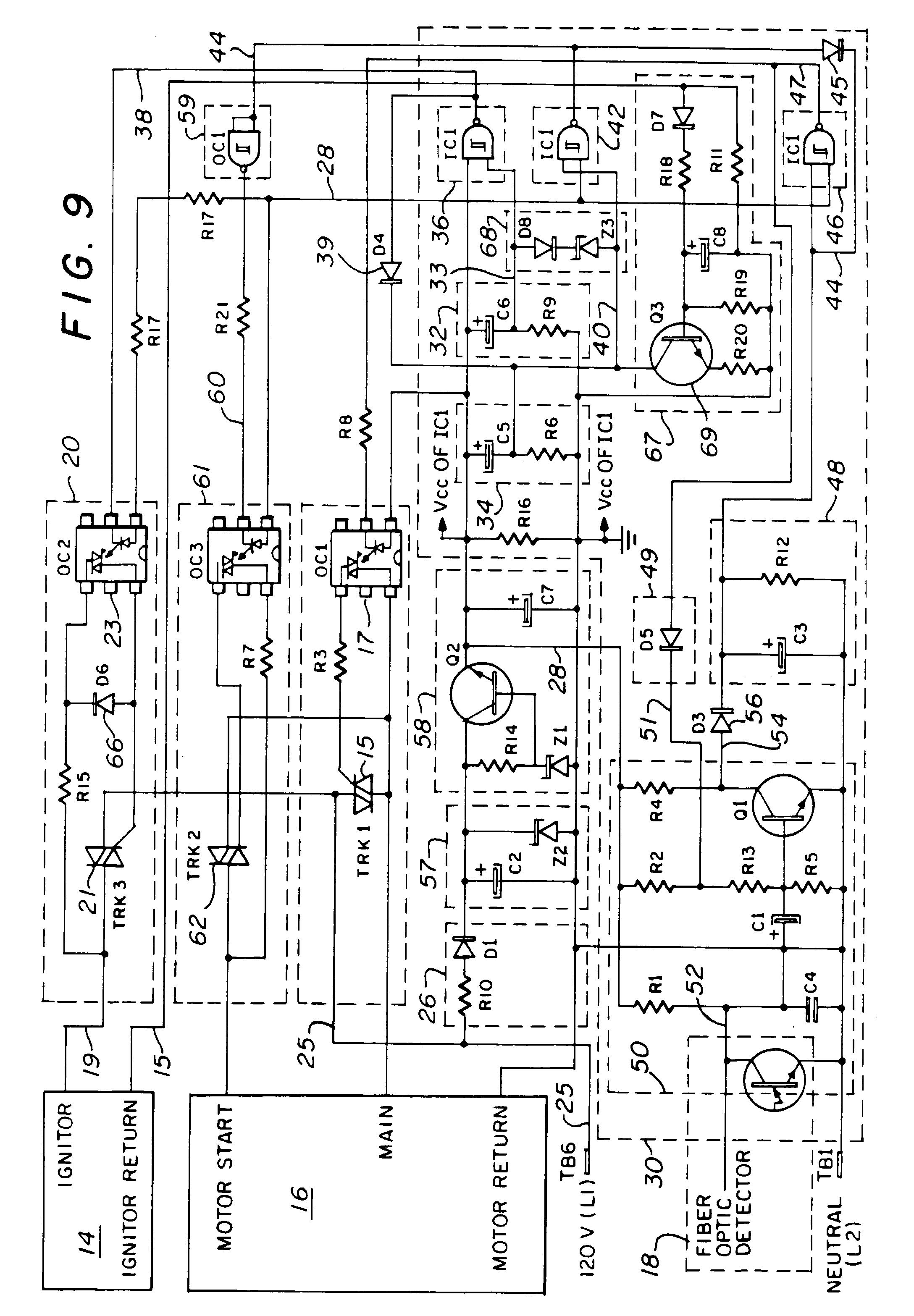 00480001 patent ep1033535a2 hot surface ignition controller for fuel oil power flame burner wiring schematic at creativeand.co