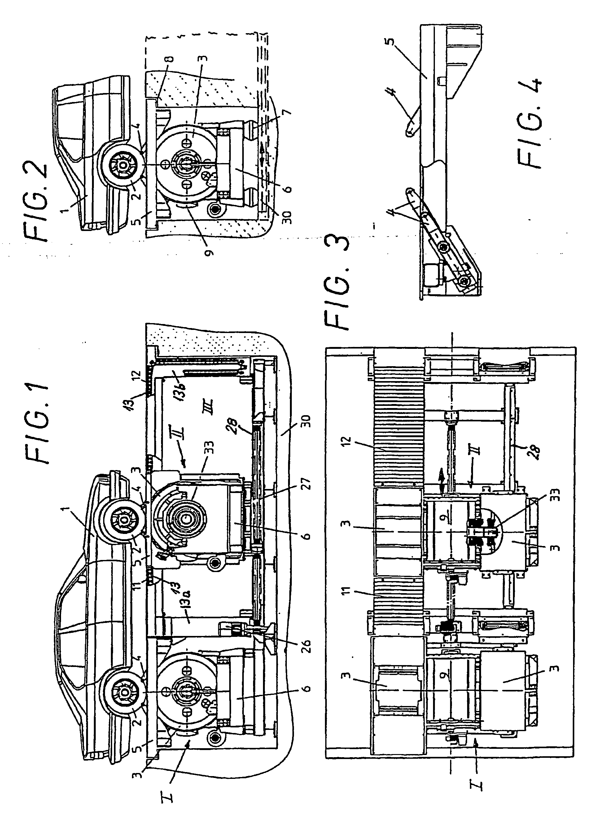 Patent EP1039282B2 - Roll test bench for vehicles - Google Patents