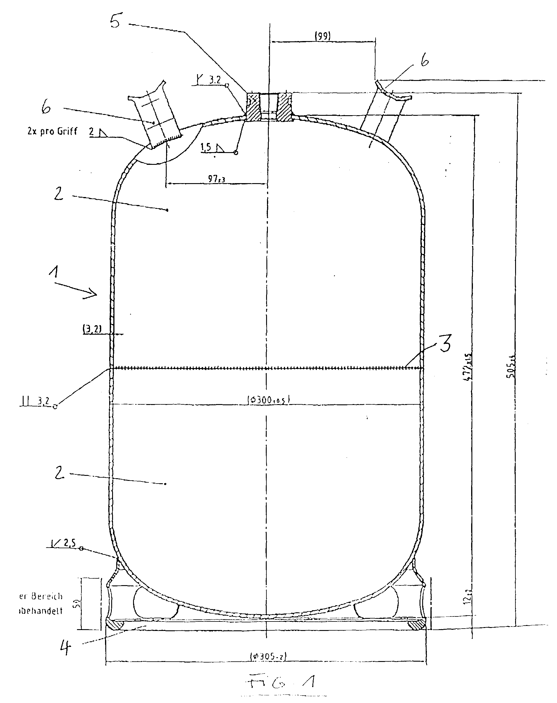 patent ep1041338a2 gasflasche google patents. Black Bedroom Furniture Sets. Home Design Ideas